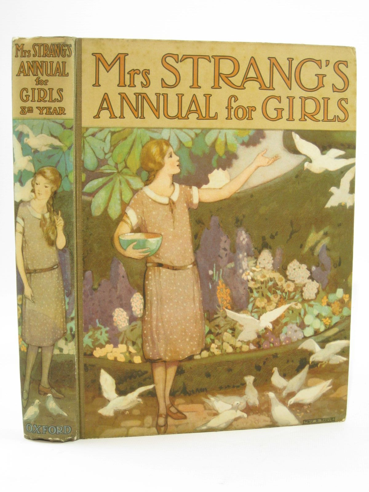 Photo of MRS STRANG'S ANNUAL FOR GIRLS written by Strang, Mrs. Herbert Darch, Winifred Bruce, Dorita Fairlie et al,  illustrated by Brock, C.E. Harrison, Florence Reeve, Mary Strange et al.,  published by Oxford University Press, Humphrey Milford (STOCK CODE: 1507725)  for sale by Stella & Rose's Books