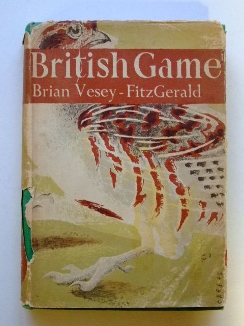 Photo of BRITISH GAME (NN 2) written by Vesey-Fitzgerald, Brian published by Collins (STOCK CODE: 1601171)  for sale by Stella & Rose's Books