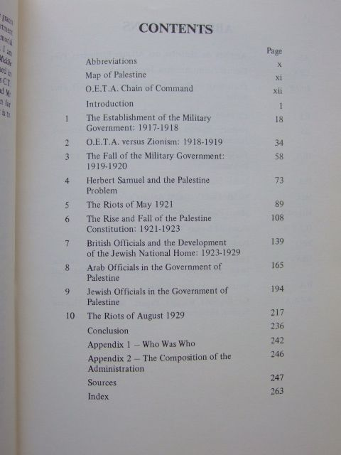 Photo of THE BRITISH IN PALESTINE THE MANDATORY GOVERNMENT AND THE ARAB-JEWISH CONFLICT 1917 - 1929 written by Wasserstein, Bernard published by The Royal Historical Society (STOCK CODE: 1601207)  for sale by Stella & Rose's Books