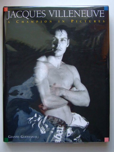 Photo of JACQUES VILLENEUVE A CHAMPION IN PICTURES written by Giansanti, Gianni Daetwyler, Cedric published by Goldstar Holdings (STOCK CODE: 1601562)  for sale by Stella & Rose's Books