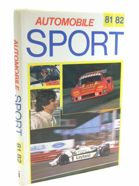Photo of AUTOMOBILE SPORT 81/82 written by Bamsey, Ian published by Iconplan (STOCK CODE: 1601973)  for sale by Stella & Rose's Books