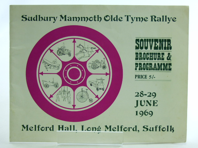Photo of SUDBURY MAMMOTH OLDE TYME RALLYE 28-29 JUNE 1969 (STOCK CODE: 1602340)  for sale by Stella & Rose's Books