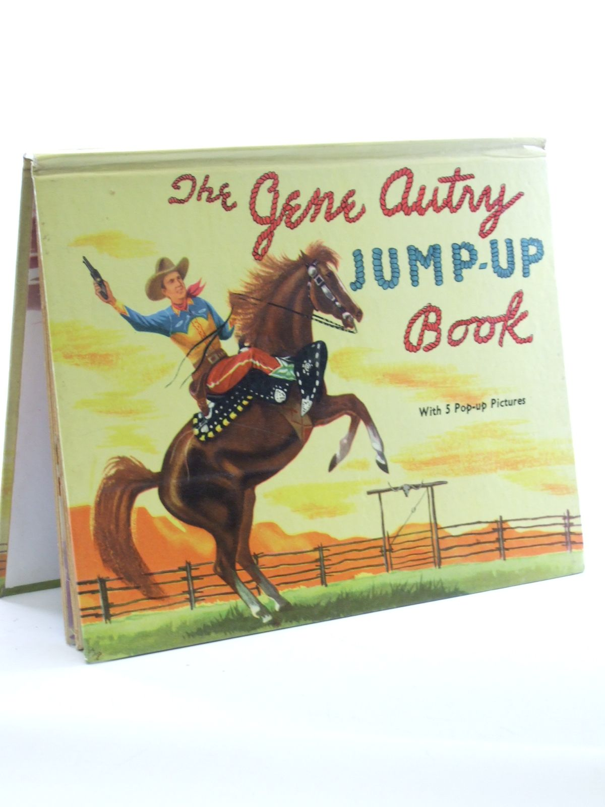 Photo of THE GENE AUTRY JUMP-UP BOOK- Stock Number: 1603101
