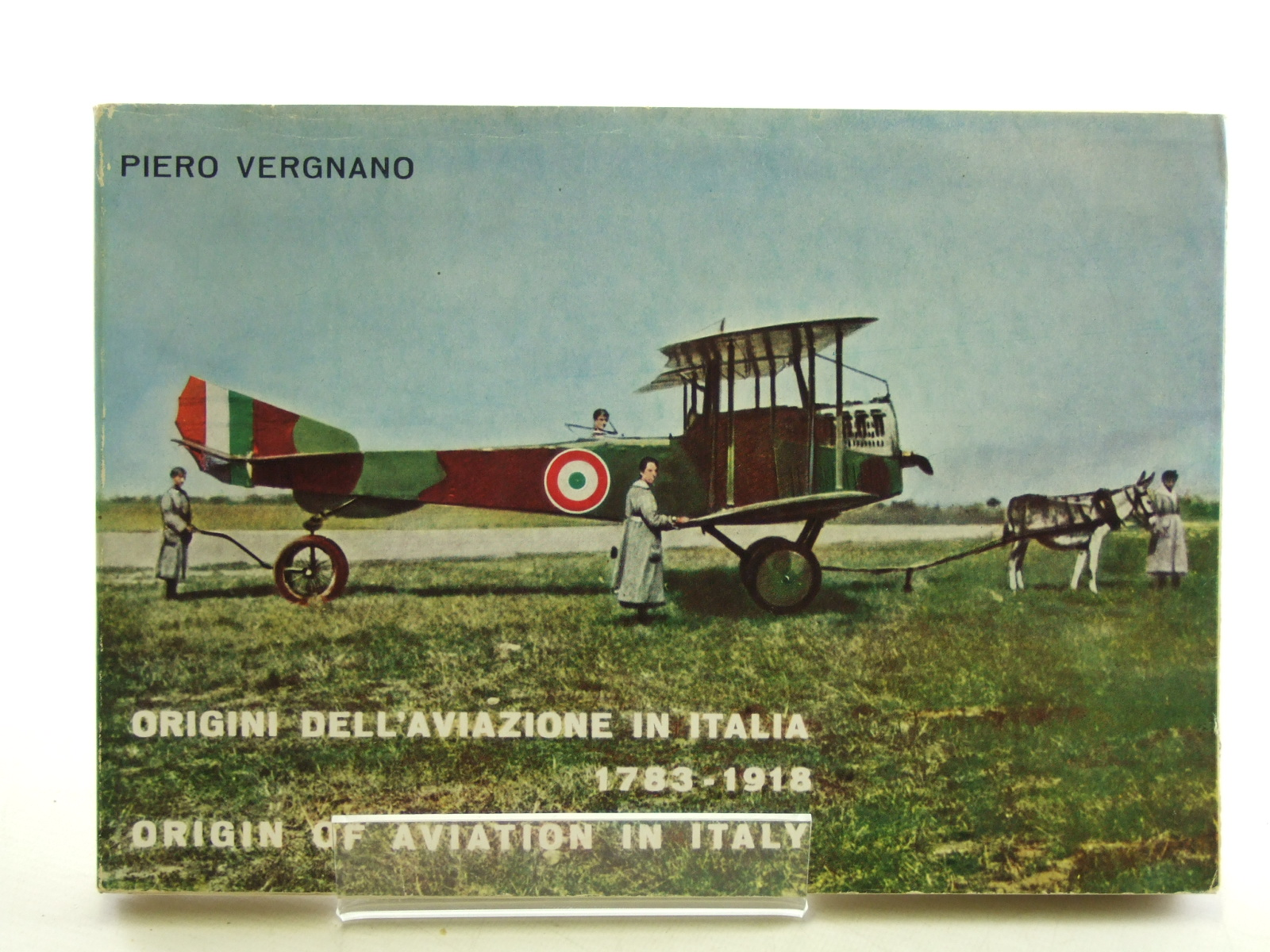 Photo of ORIGIN OF AVIATION IN ITALY 1783-1918 written by Vergnano, Piero published by Intyprint (STOCK CODE: 1603965)  for sale by Stella & Rose's Books