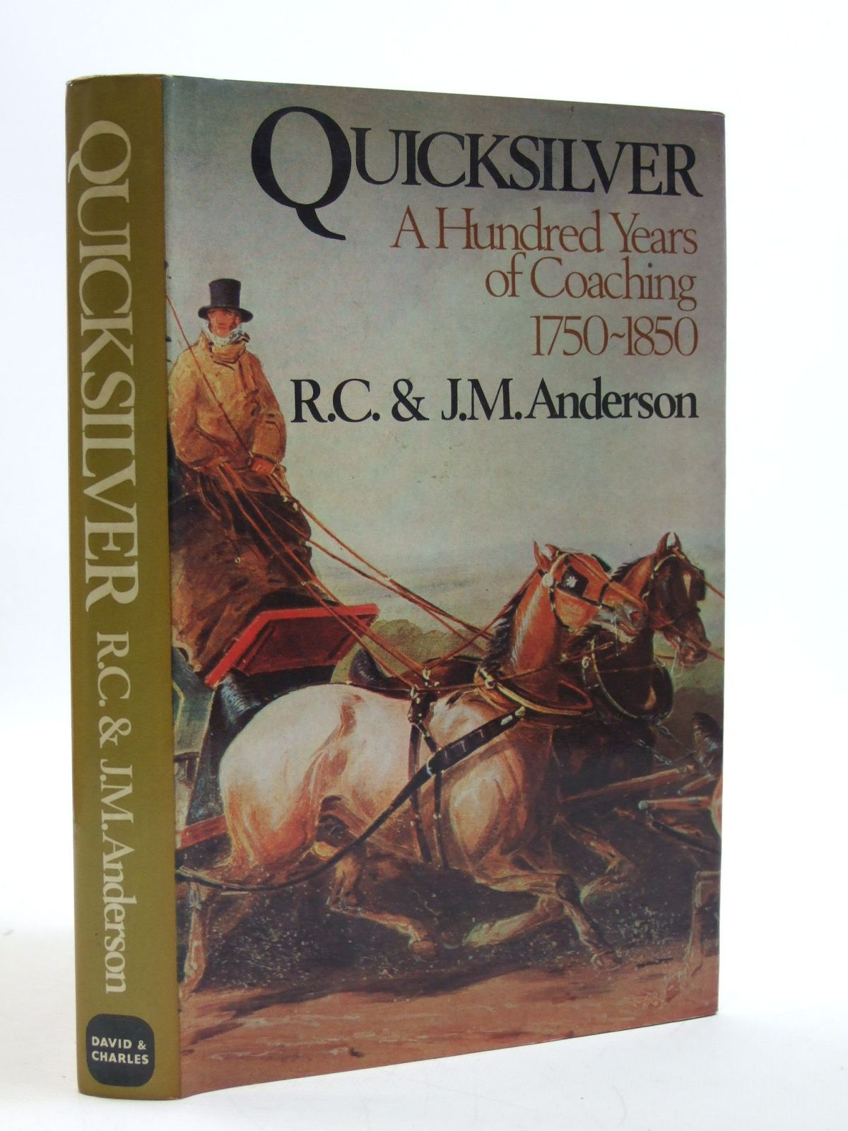 Photo of QUICKSILVER written by Anderson, R.C. Anderson, J.M. published by David & Charles (STOCK CODE: 1604090)  for sale by Stella & Rose's Books