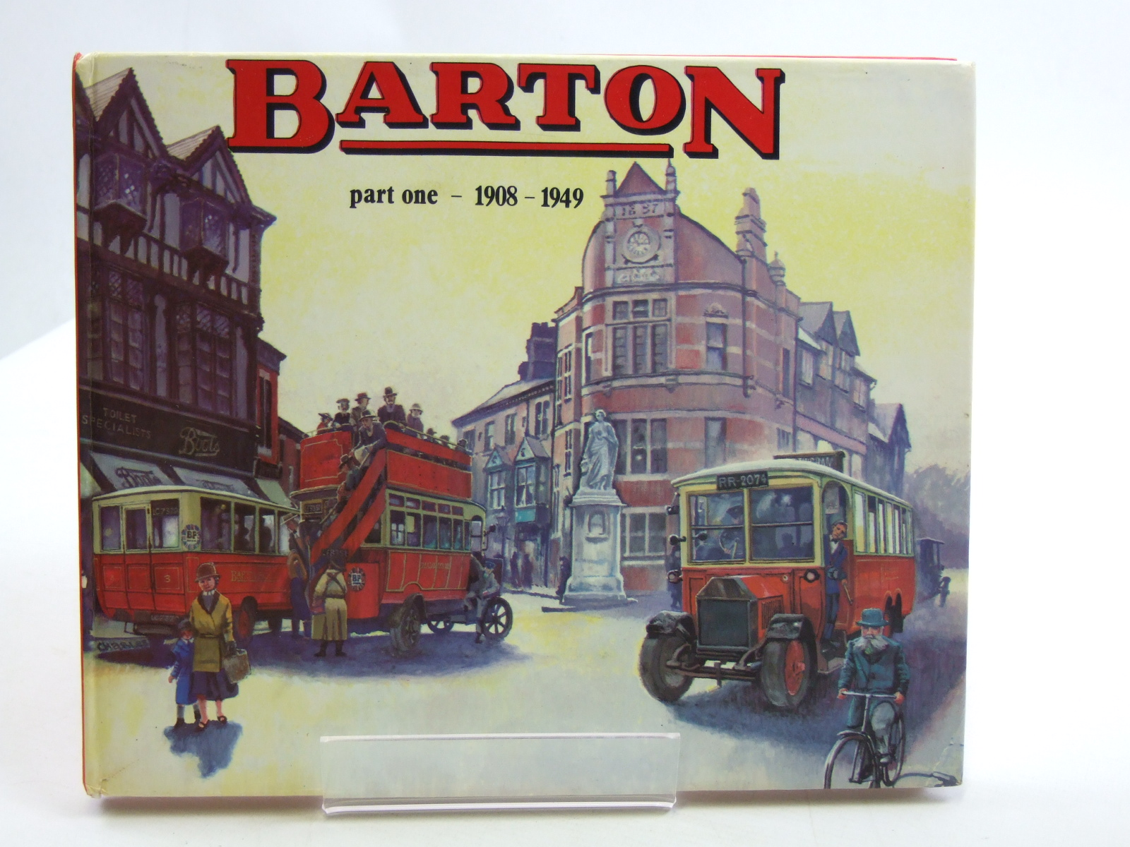 Photo of BARTON PART ONE 1908-1949 written by Oxley, Alan published by Robin Hood Publishing (STOCK CODE: 1604201)  for sale by Stella & Rose's Books