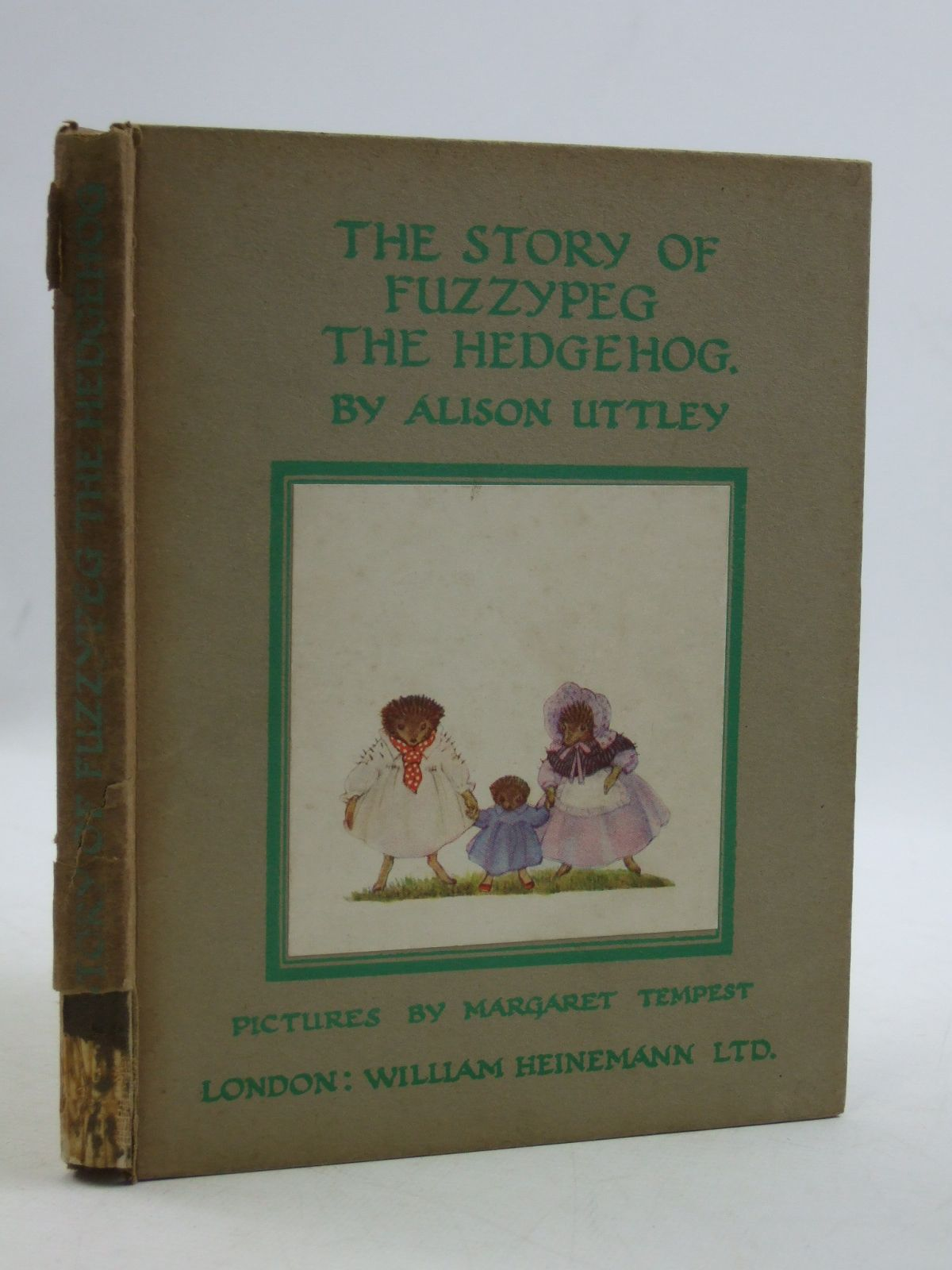 Photo of THE STORY OF FUZZYPEG THE HEDGEHOG written by Uttley, Alison illustrated by Tempest, Margaret published by William Heinemann Ltd. (STOCK CODE: 1604347)  for sale by Stella & Rose's Books