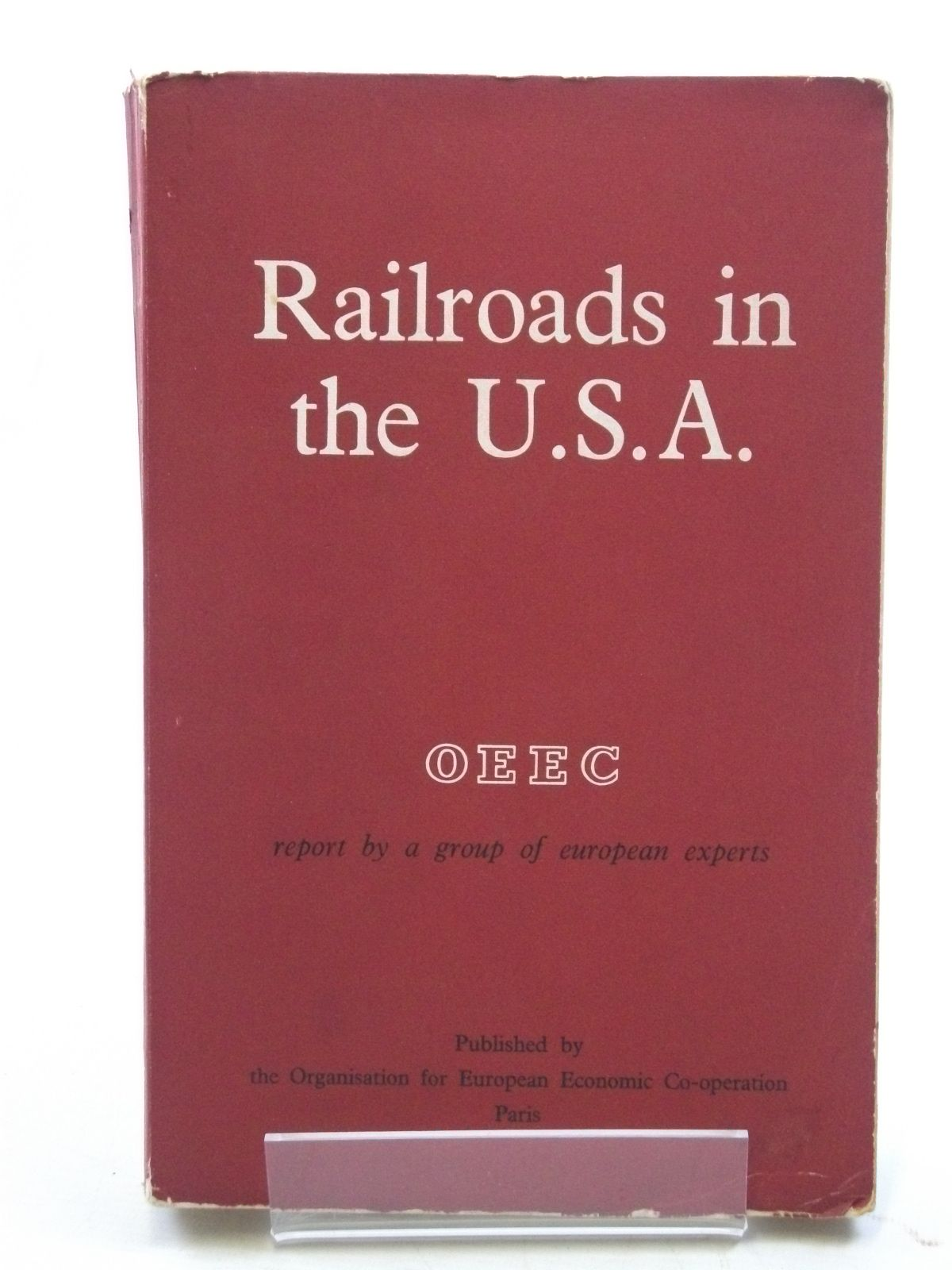 Photo of RAILROADS IN THE U.S.A. published by Organisation For Economic Co-Operation (STOCK CODE: 1604590)  for sale by Stella & Rose's Books