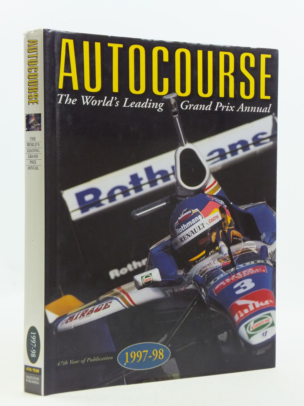 Photo of AUTOCOURSE 1997-1998 written by Henry, Alan published by Hazleton Publishing (STOCK CODE: 1604609)  for sale by Stella & Rose's Books