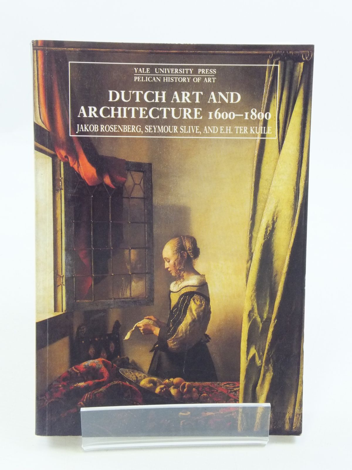 Photo of DUTCH ART AND ARCHITECTURE 1600-1800 written by Rosenberg, Jakob Slive, Seymour Ter Kuile, E.H. published by Yale University Press (STOCK CODE: 1604764)  for sale by Stella & Rose's Books