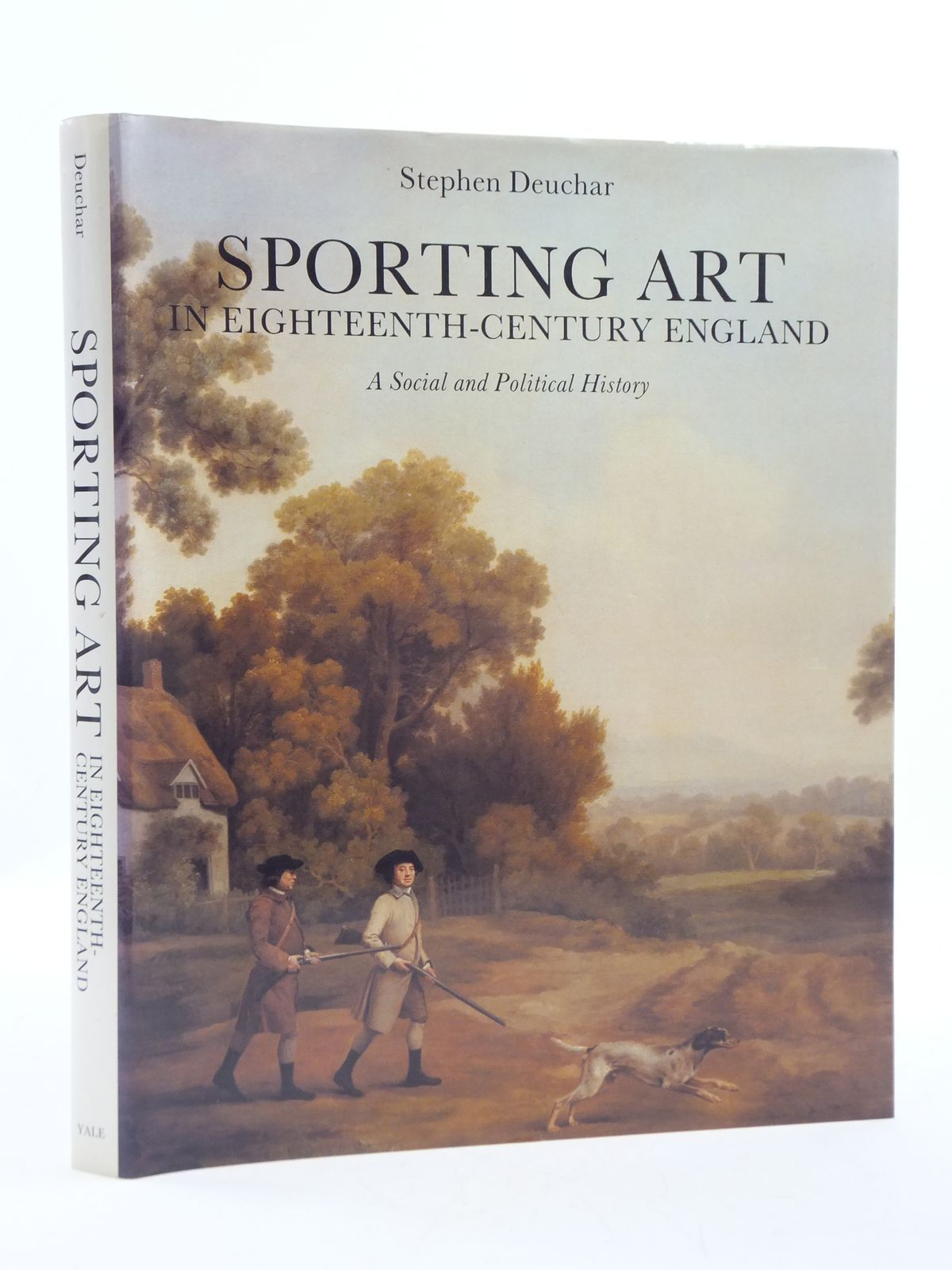 Photo of SPORTING ART IN EIGHTEENTH-CENTURY ENGLAND A SOCIAL AND POLITICAL HISTORY- Stock Number: 1604857