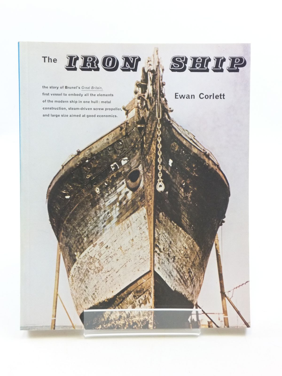Photo of THE IRON SHIP written by Corlett, Ewan published by Moonraker Press (STOCK CODE: 1604884)  for sale by Stella & Rose's Books