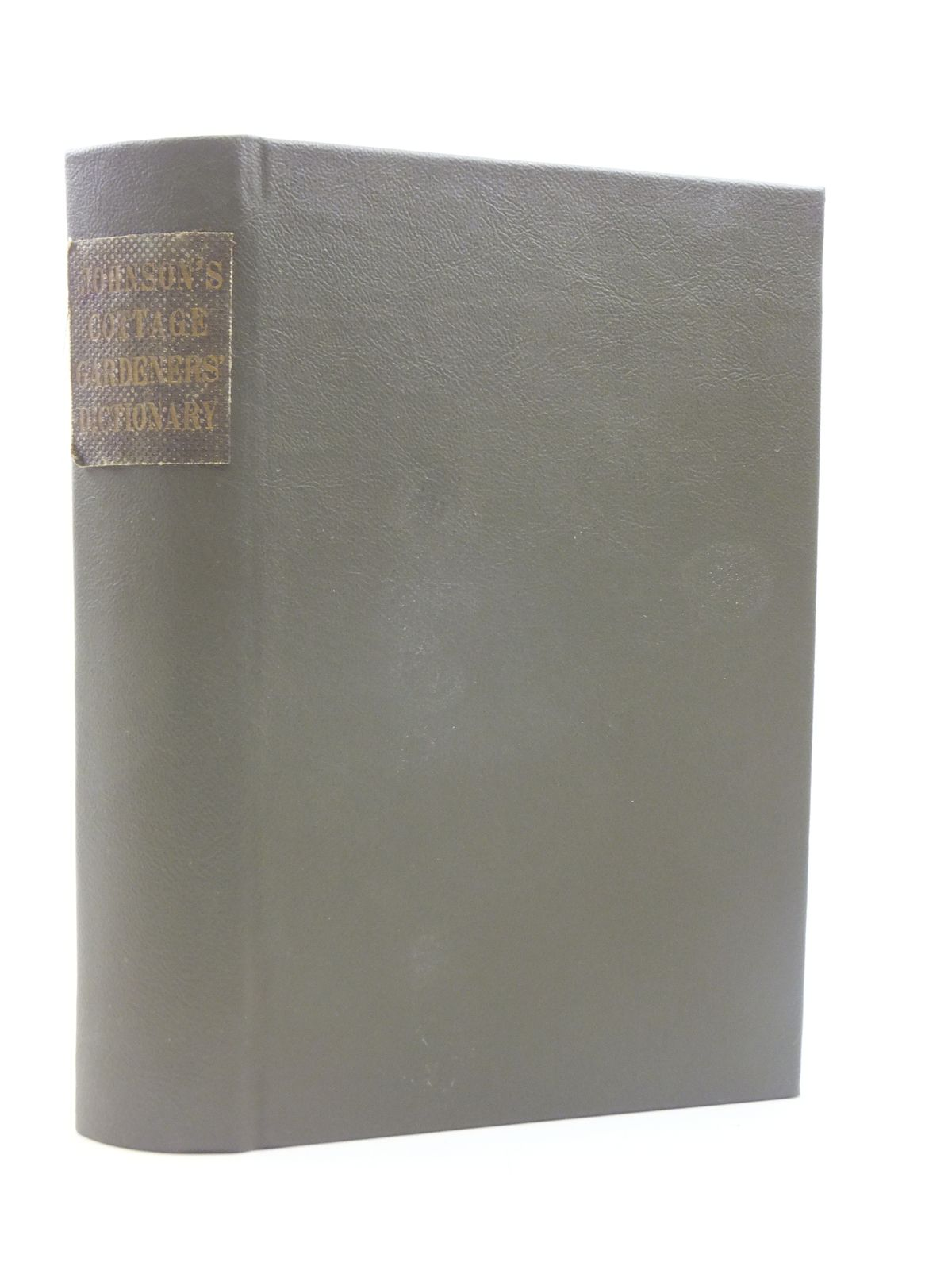 Photo of THE COTTAGE GARDENERS' DICTIONARY written by Johnson, George W. published by W. Kent & Co. (STOCK CODE: 1605027)  for sale by Stella & Rose's Books
