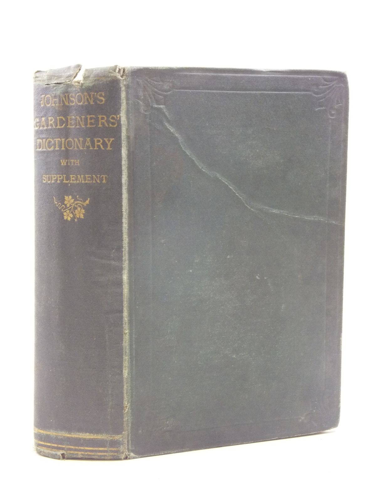 Photo of THE GARDENERS' DICTIONARY written by Johnson, George W. published by George Bell & Sons (STOCK CODE: 1605029)  for sale by Stella & Rose's Books