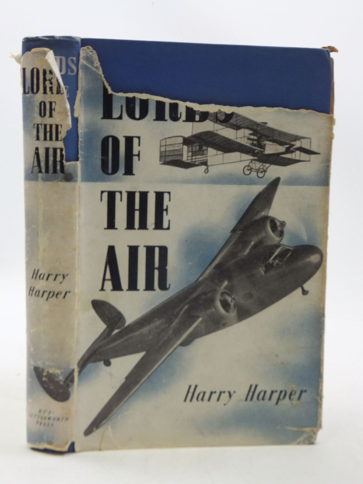 Photo of LORDS OF THE AIR written by Harper, Harry published by R.T.S Lutterworth Press (STOCK CODE: 1605069)  for sale by Stella & Rose's Books