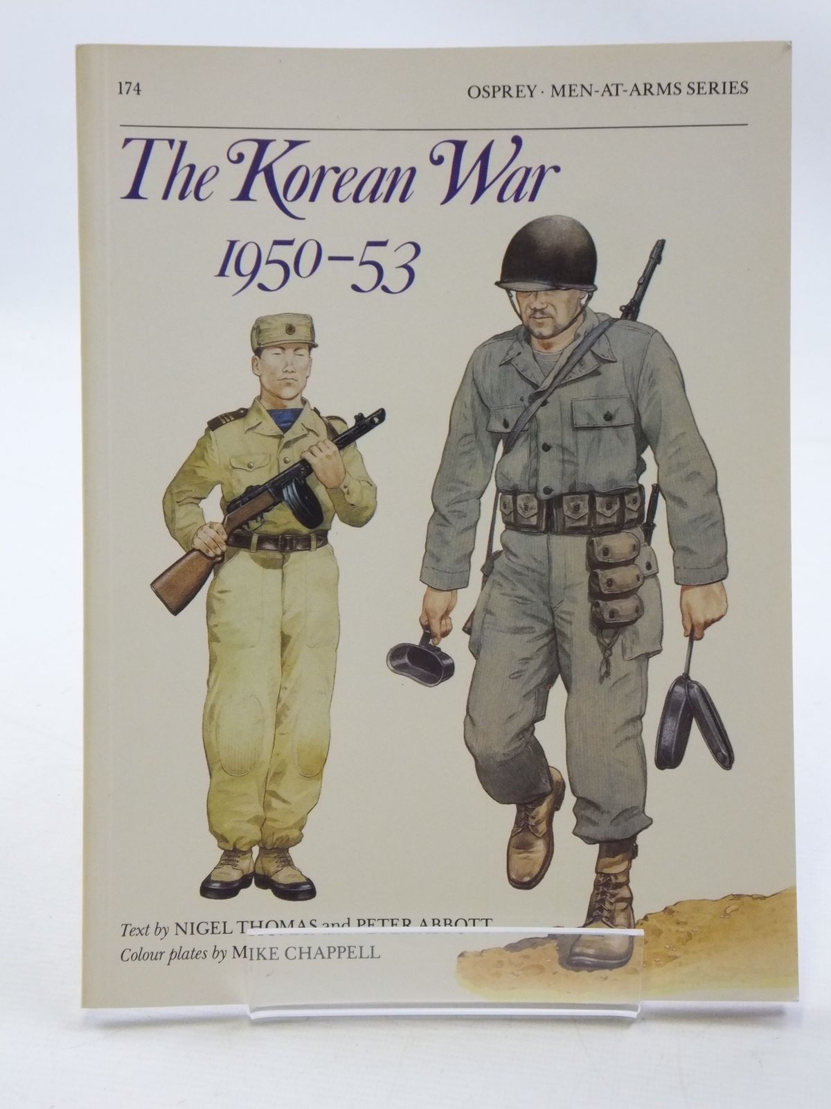 Photo of THE KOREAN WAR 1950-53 written by Thomas, Nigel<br />Abbott, Peter published by Osprey Publishing (STOCK CODE: 1605371)  for sale by Stella & Rose's Books
