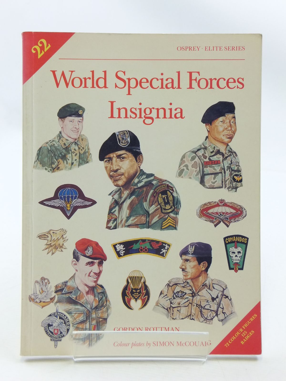 Photo of WORLD SPECIAL FORCES INSIGNIA written by Rottman, Gordon published by Osprey Publishing (STOCK CODE: 1605410)  for sale by Stella & Rose's Books