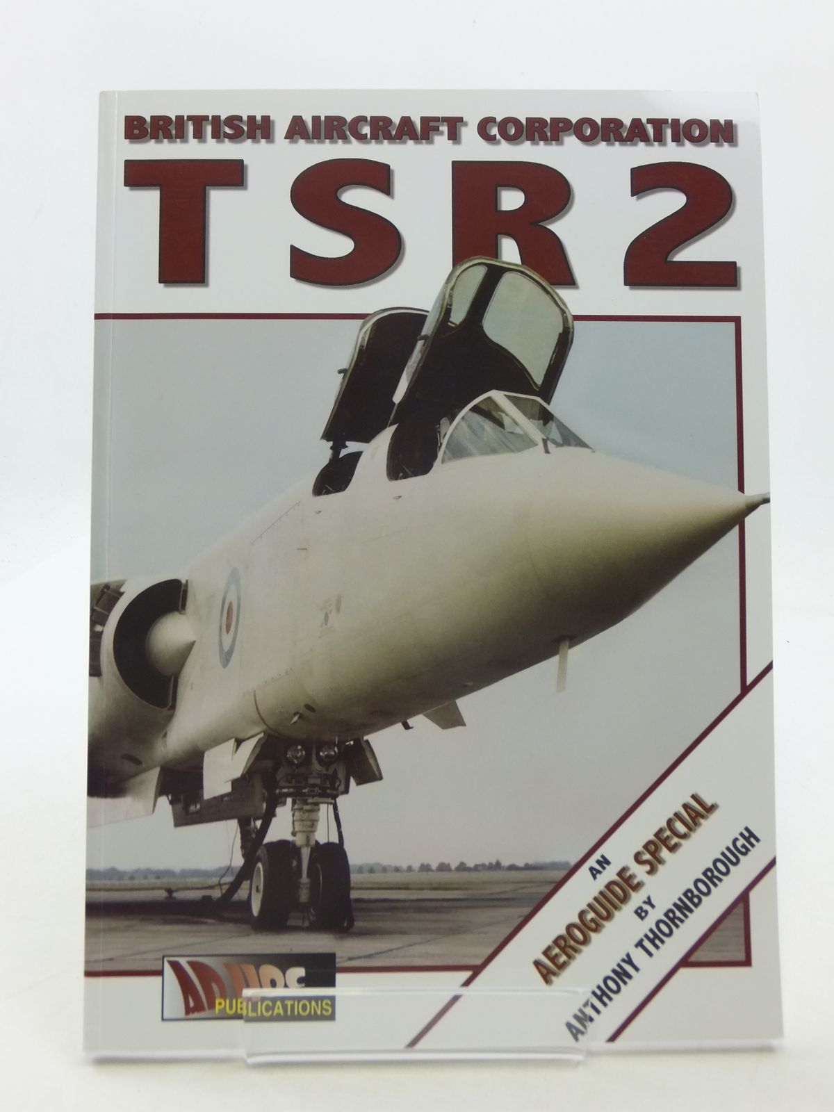Photo of BRITISH AIRCRAFT CORPORATION TSR2 written by Thornborough, Anthony M. published by Ad Hoc Publications (STOCK CODE: 1605423)  for sale by Stella & Rose's Books