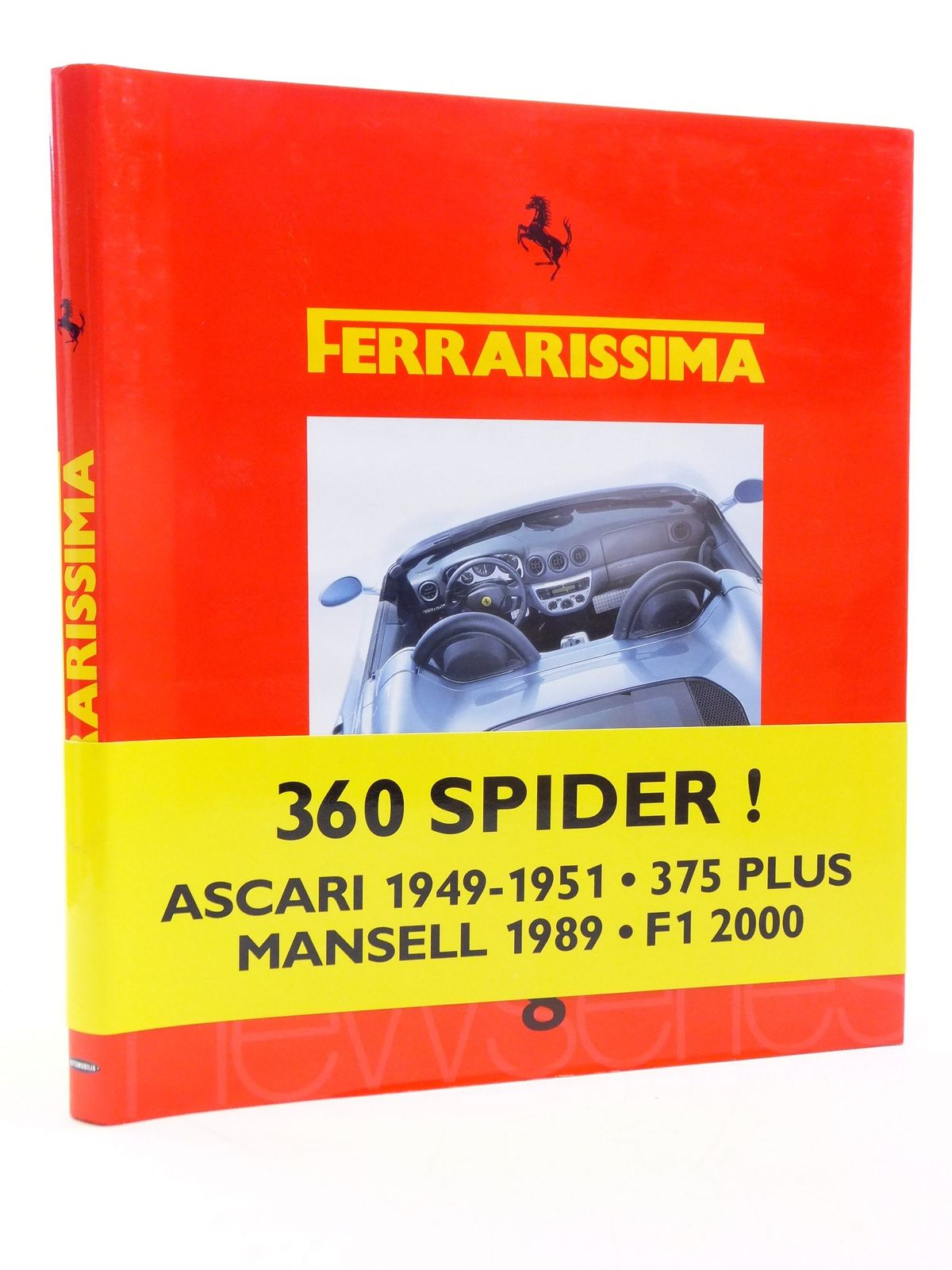Photo of FERRARISSIMA 8 (NEW SERIES) written by Alfieri, Bruno published by Automobilia (STOCK CODE: 1605617)  for sale by Stella & Rose's Books