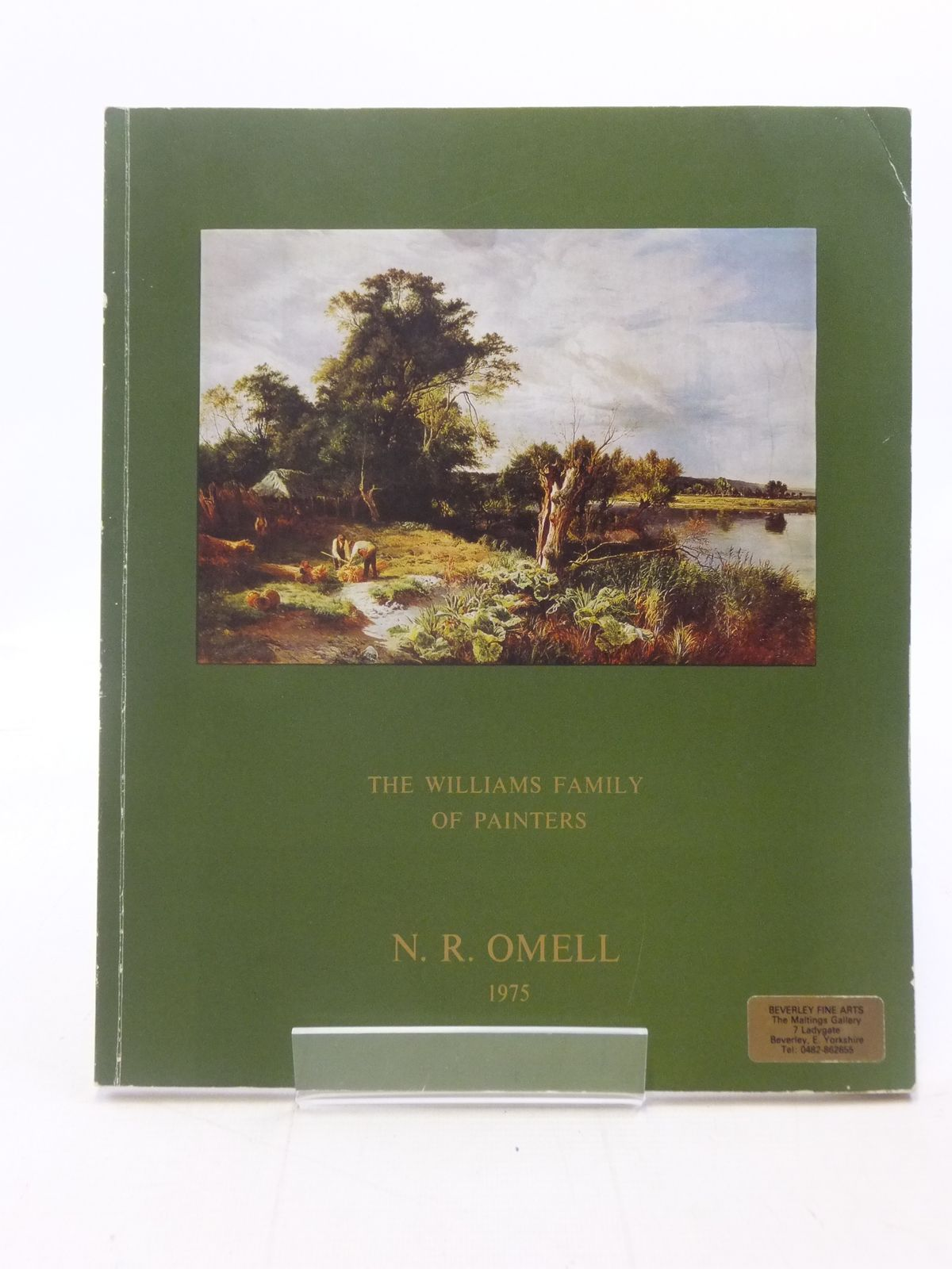 Photo of THE WILLIAMS FAMILY OF PAINTERS published by N.R. Omell Gallery (STOCK CODE: 1605842)  for sale by Stella & Rose's Books
