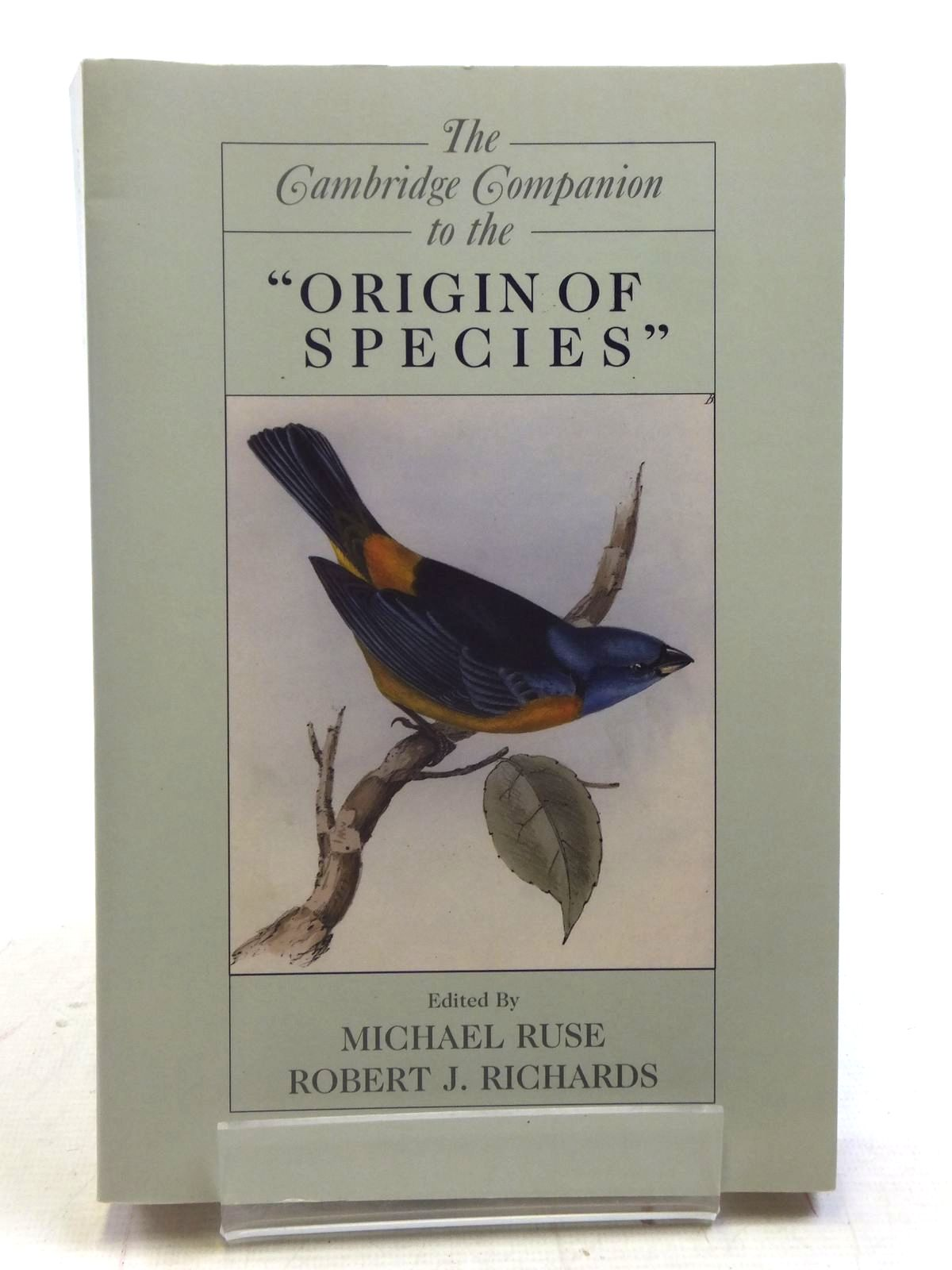 Photo of THE CAMBRIDGE COMPANION TO THE ORIGIN OF SPECIES- Stock Number: 1606009