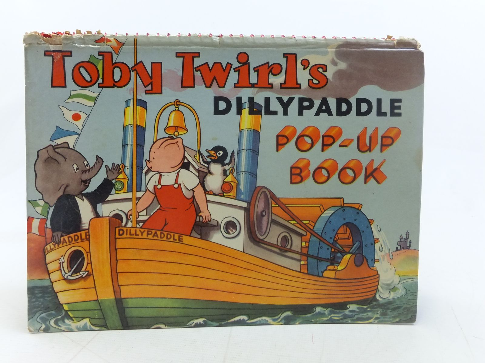 Photo of TOBY TWIRL'S DILLYPADDLE POP-UP BOOK- Stock Number: 1606130