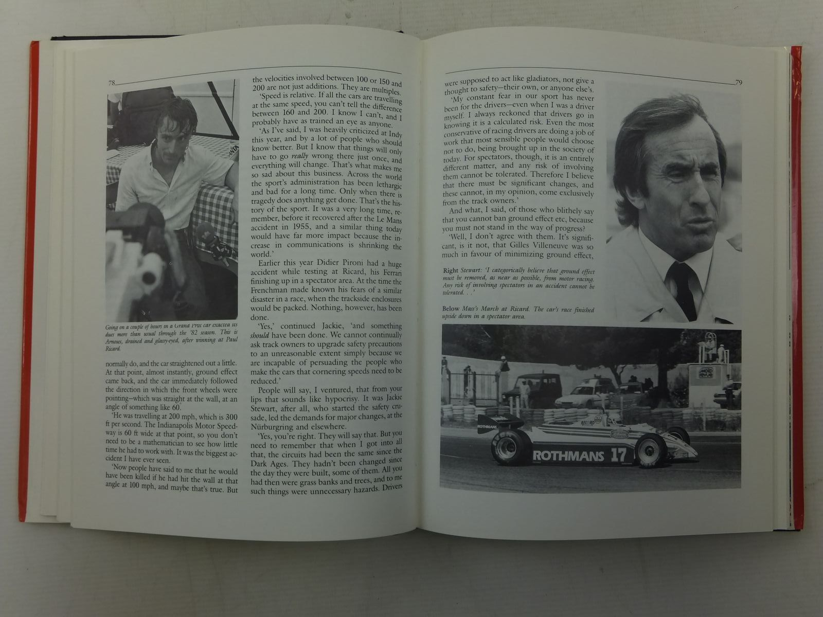 Photo of INSIDE FORMULA 1 written by Roebuck, Nigel published by Patrick Stephens (STOCK CODE: 1606149)  for sale by Stella & Rose's Books