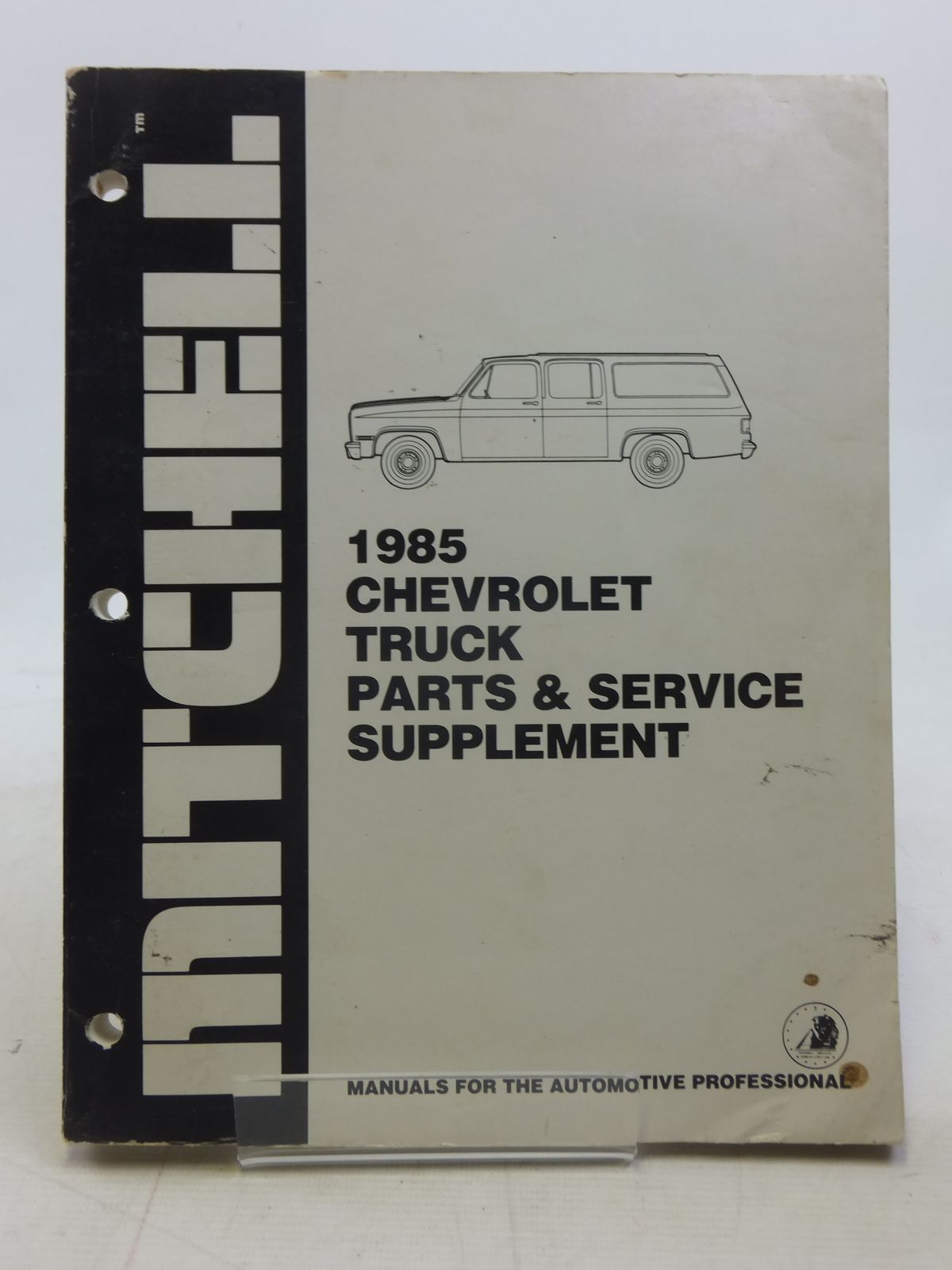 Photo of 1985 CHEVROLET TRUCK PARTS & SERVICE SUPPLEMENT published by Mitchell Information Services Inc. (STOCK CODE: 1606160)  for sale by Stella & Rose's Books