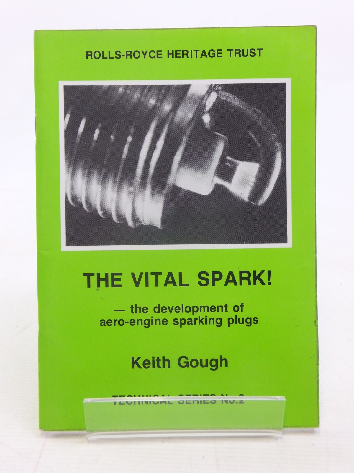 Photo of THE VITAL SPARK! THE DEVELOPMENT OF AERO-ENGINE SPARKING- Stock Number: 1606173