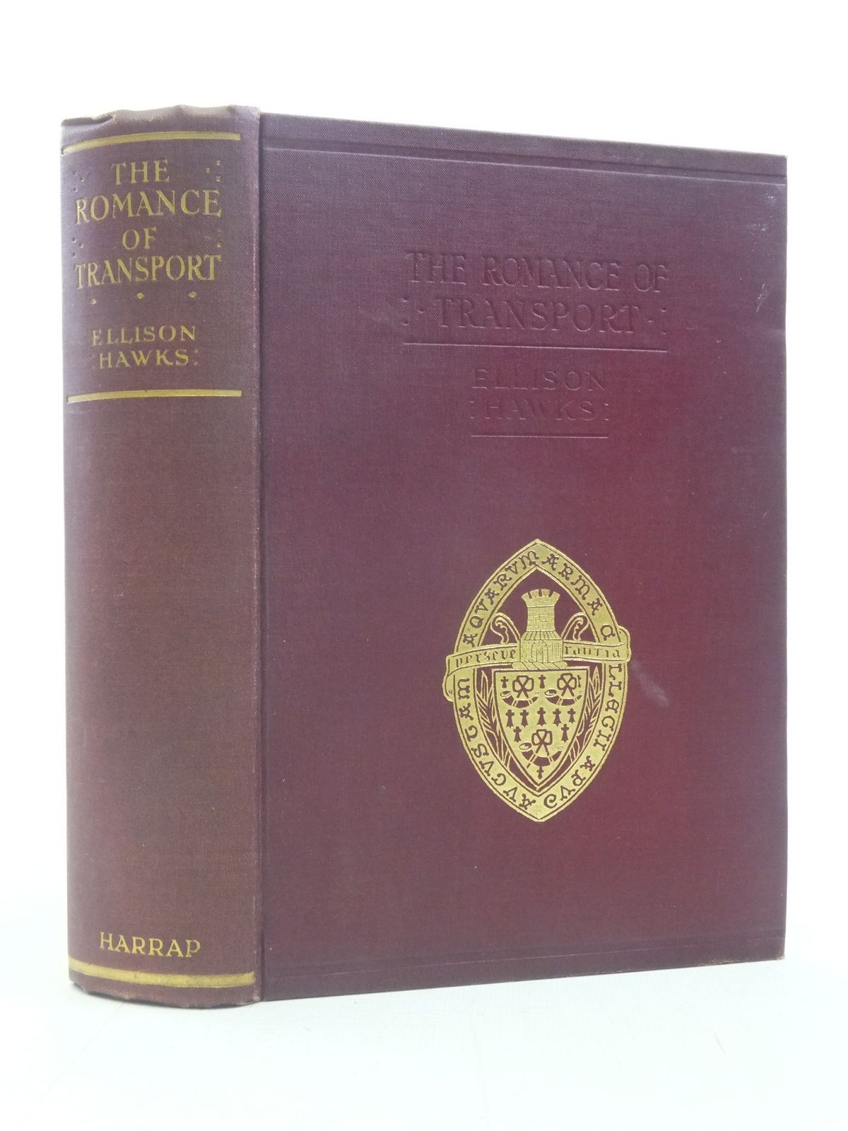 Photo of THE ROMANCE OF TRANSPORT written by Hawks, Ellison published by George G. Harrap & Co. Ltd. (STOCK CODE: 1606211)  for sale by Stella & Rose's Books