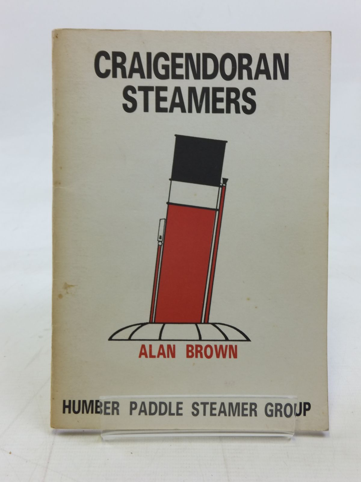 Photo of CRAIGENDORAN STEAMERS written by Brown, Alan published by Humber Paddle Steamer Group (STOCK CODE: 1606316)  for sale by Stella & Rose's Books
