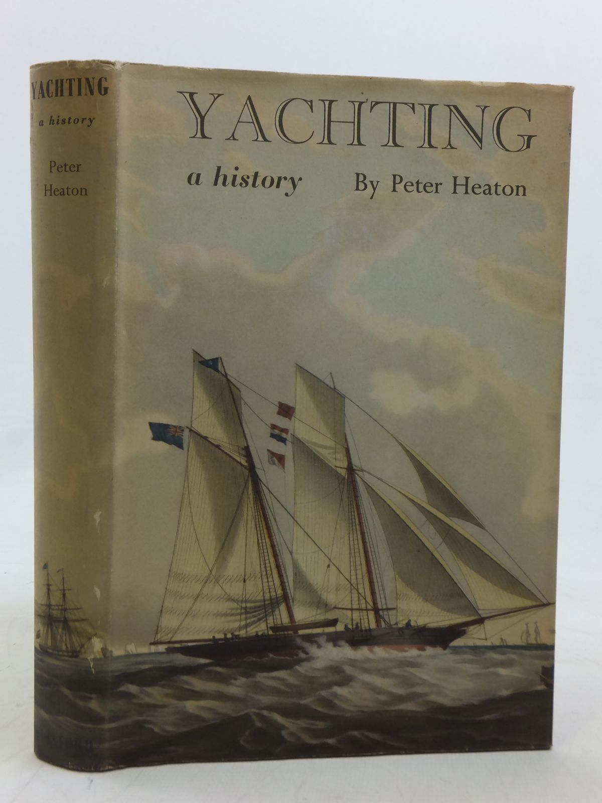 Photo of YACHTING A HISTORY written by Heaton, Peter published by B.T. Batsford (STOCK CODE: 1606344)  for sale by Stella & Rose's Books