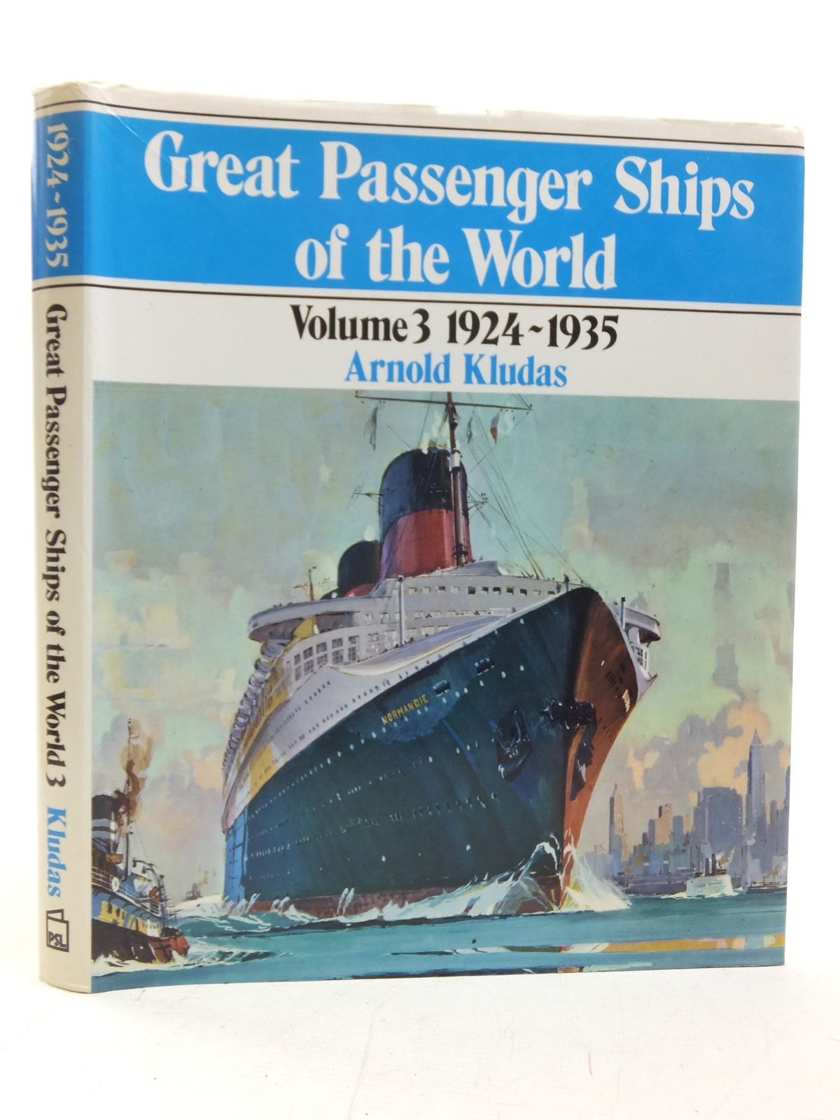 Photo of GREAT PASSENGER SHIPS OF THE WORLD VOLUME 3 1924-1935 written by Kludas, Arnold published by Patrick Stephens (STOCK CODE: 1606369)  for sale by Stella & Rose's Books