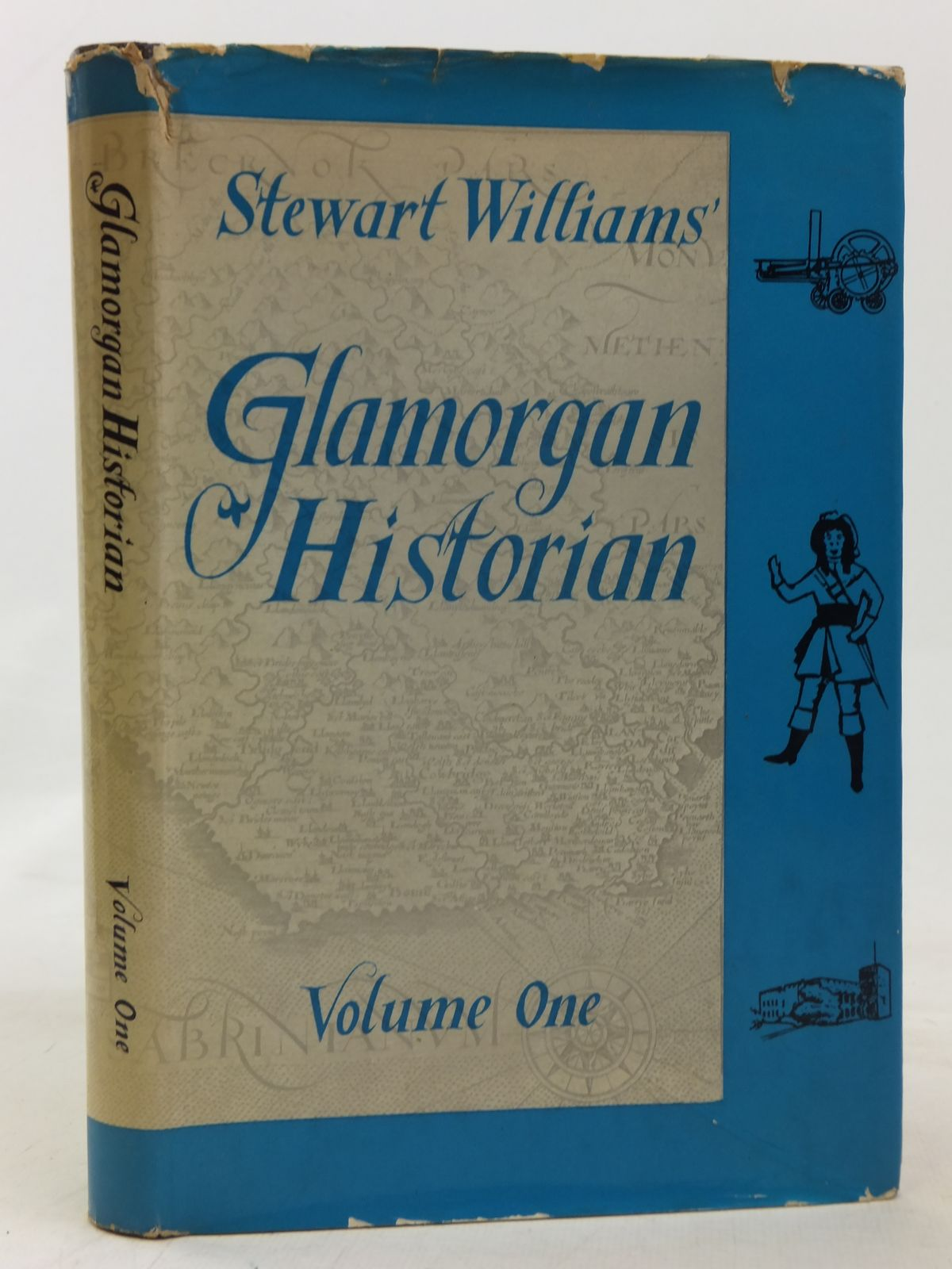 Photo of GLAMORGAN HISTORIAN VOLUME ONE written by Williams, Stewart published by D. Brown & Sons Limited (STOCK CODE: 1606456)  for sale by Stella & Rose's Books