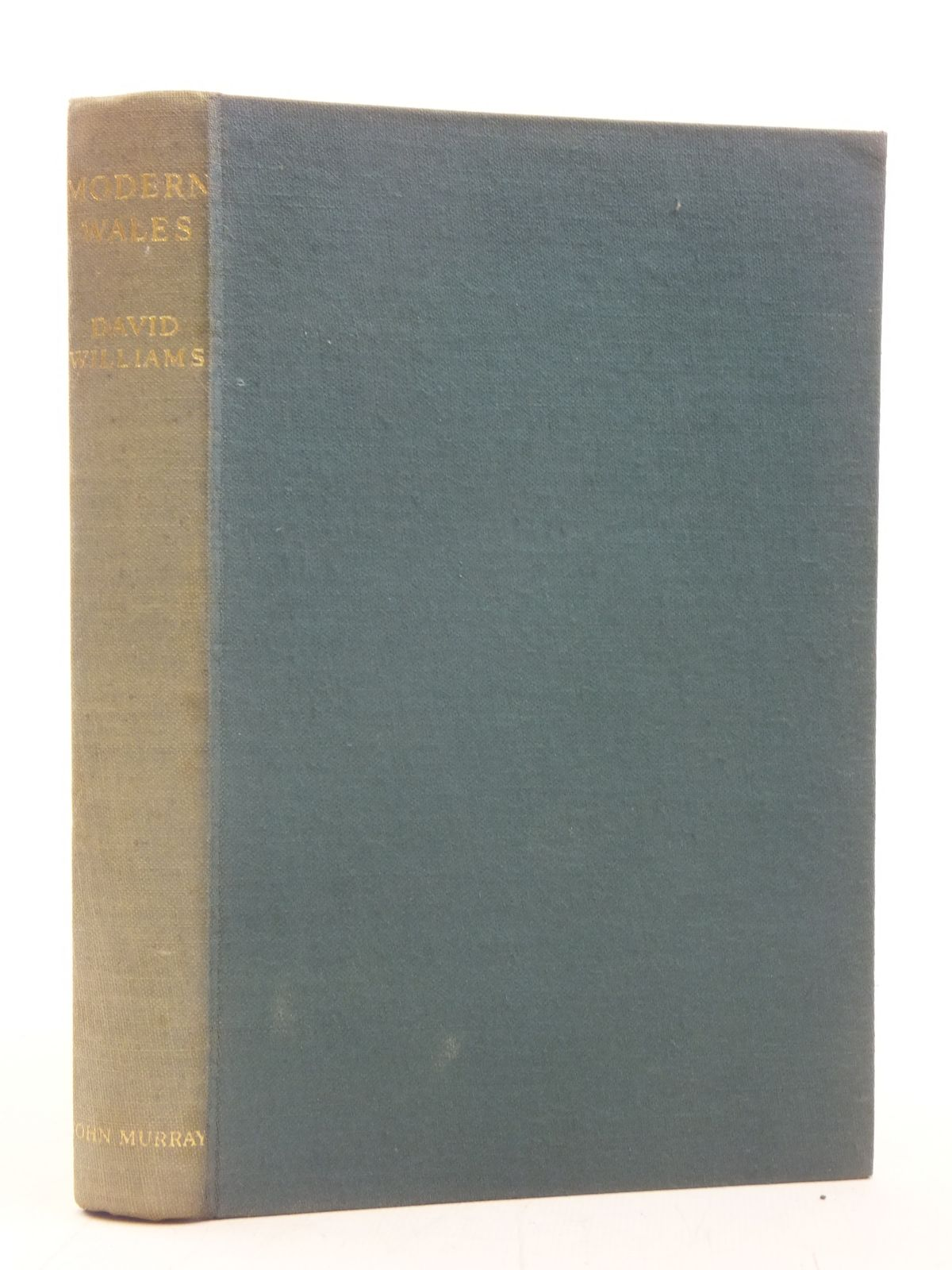 Photo of A HISTORY OF MODERN WALES written by Williams, David published by John Murray (STOCK CODE: 1606479)  for sale by Stella & Rose's Books