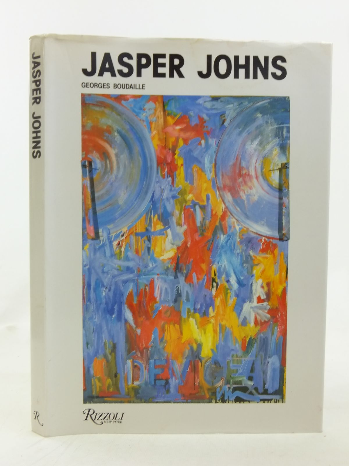 Photo of JASPER JOHNS written by Boudaille, Georges published by Rizzoli (STOCK CODE: 1606751)  for sale by Stella & Rose's Books