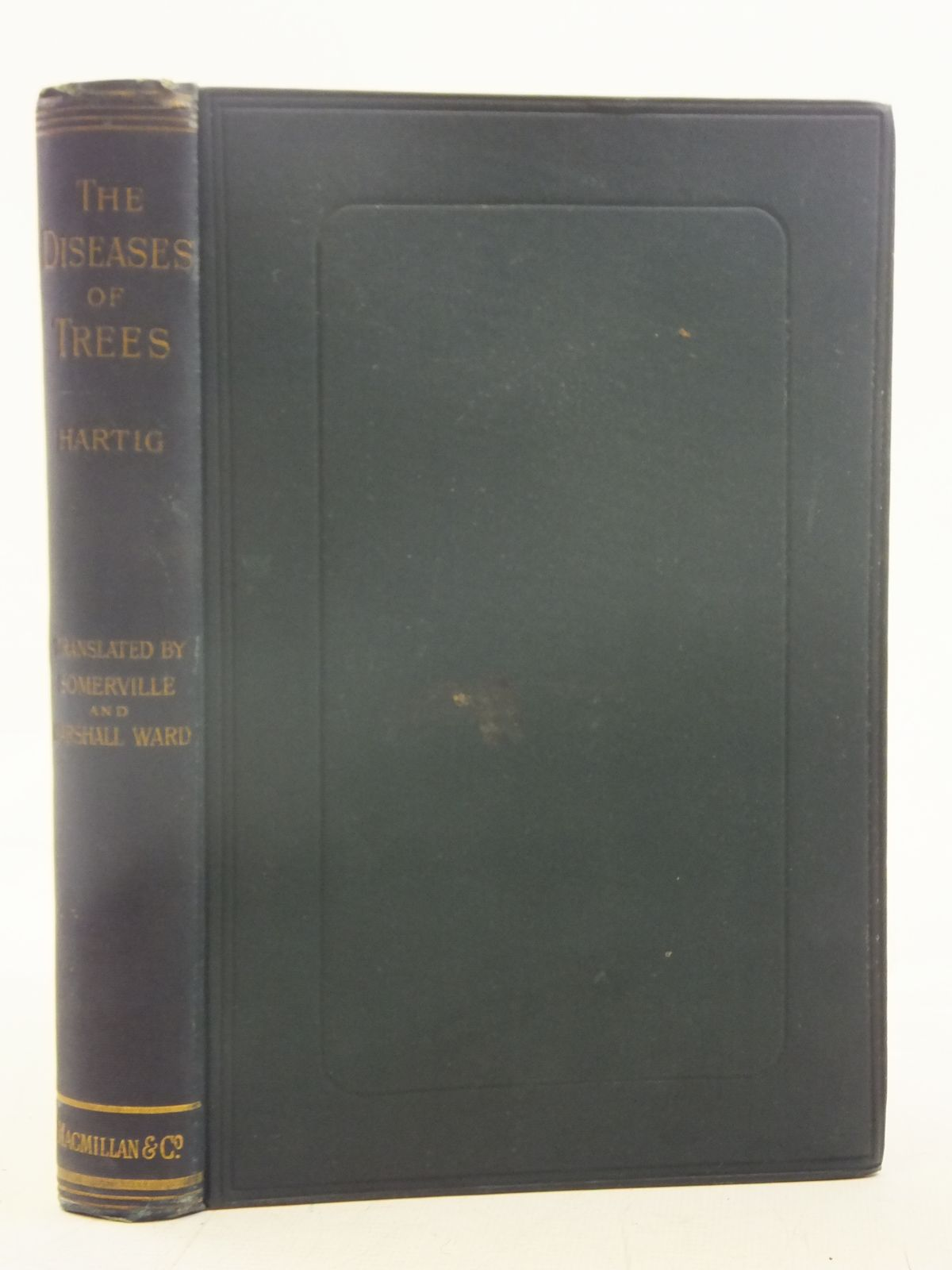 Photo of TEXT-BOOK OF THE DISEASES OF TREES written by Hartig, R<br />Ward, H. Marshall published by Macmillan &amp; Co. (STOCK CODE: 1606800)  for sale by Stella & Rose's Books