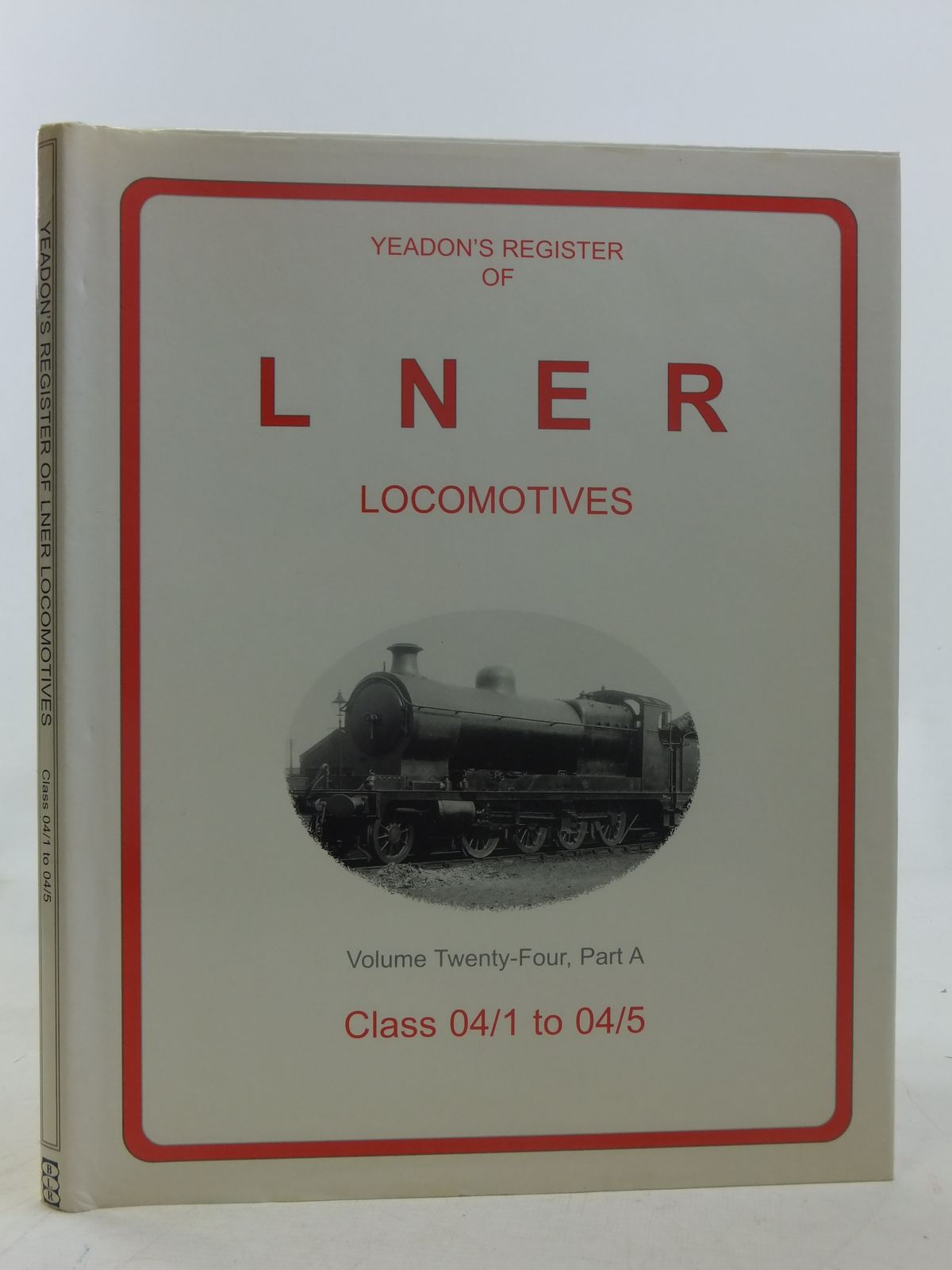 Photo of YEADON'S REGISTER OF LNER LOCOMOTIVES VOLUME TWENTY-FOUR, PART A written by Yeadon, W.B. published by Booklaw Railbus, Challenger Publications (STOCK CODE: 1606848)  for sale by Stella & Rose's Books