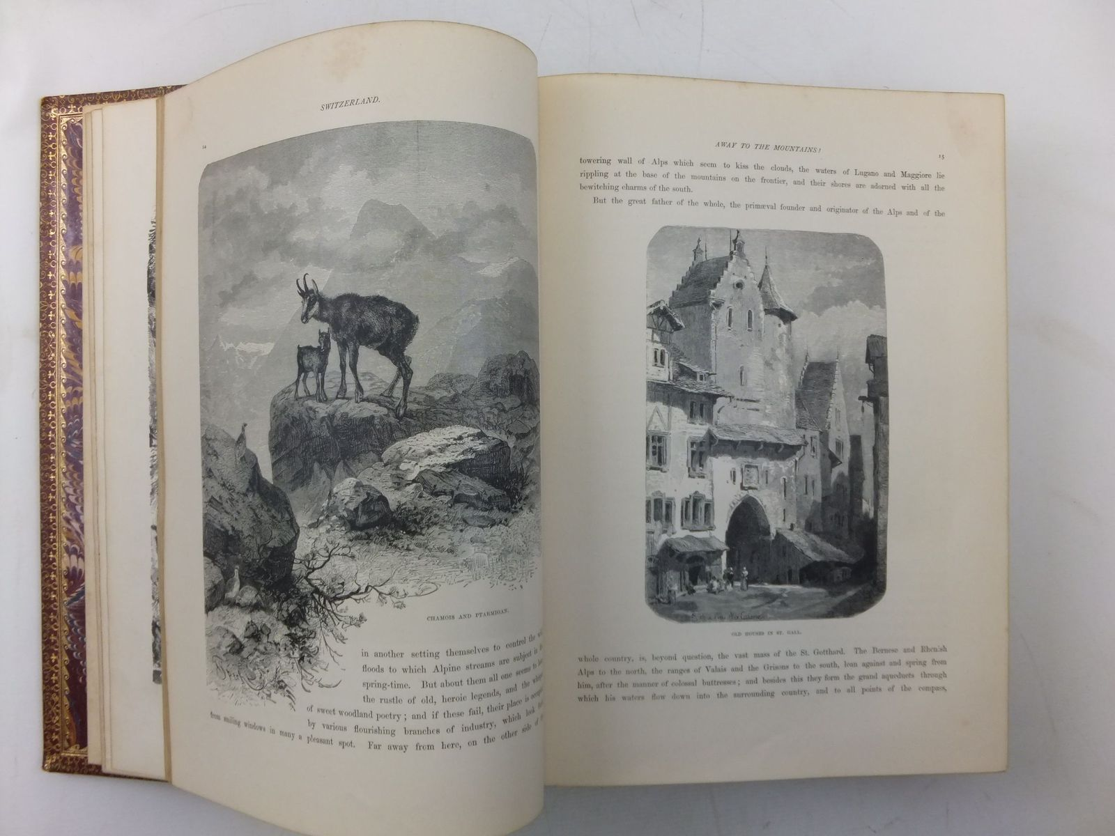 Photo of SWITZERLAND ITS MOUNTAINS AND VALLEYS written by Raden, Woldemar illustrated by Closs, A. published by Bickers & Son (STOCK CODE: 1606890)  for sale by Stella & Rose's Books