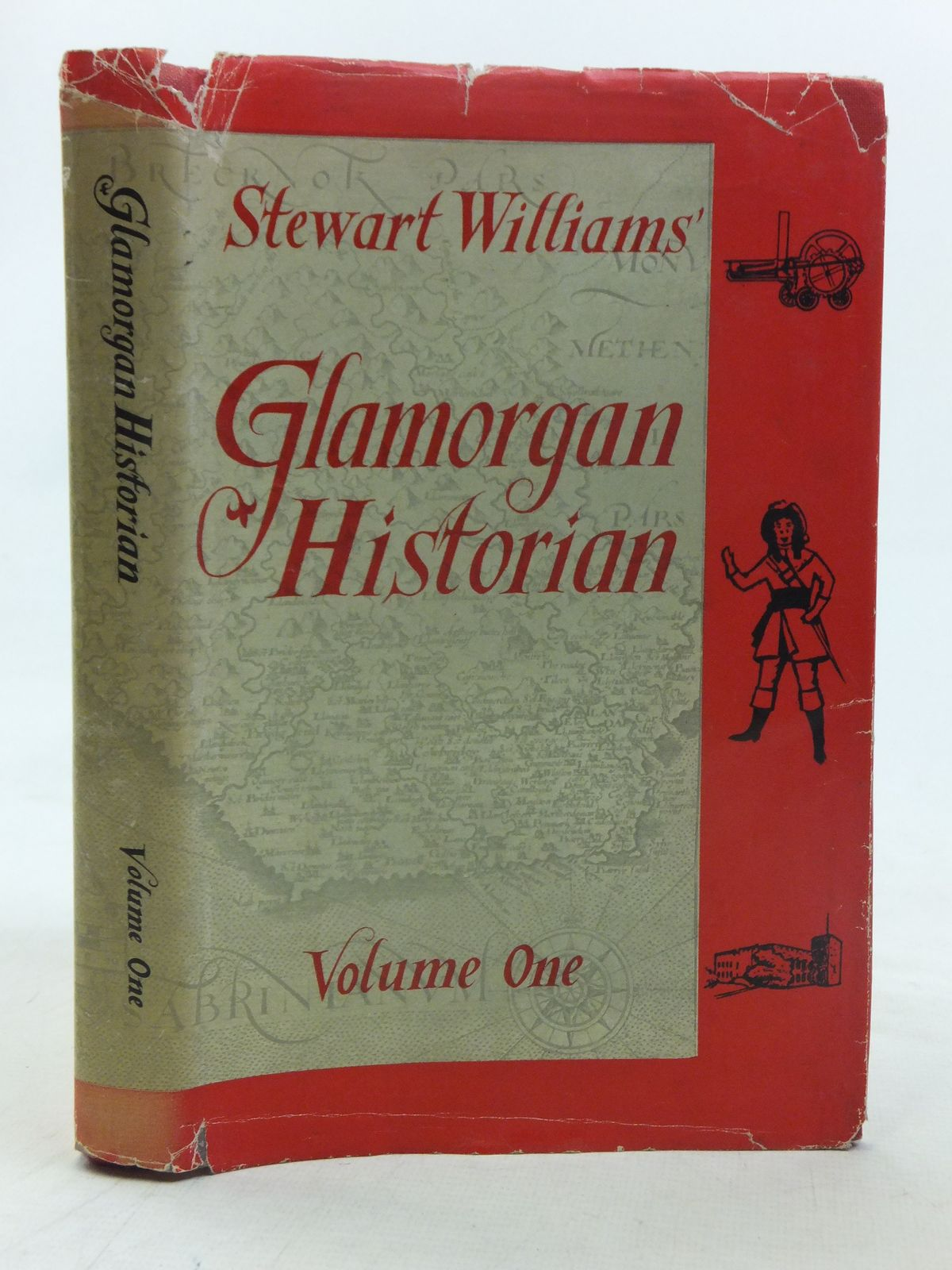 Photo of GLAMORGAN HISTORIAN VOLUME ONE written by Williams, Stewart published by D. Brown & Sons Limited (STOCK CODE: 1607072)  for sale by Stella & Rose's Books