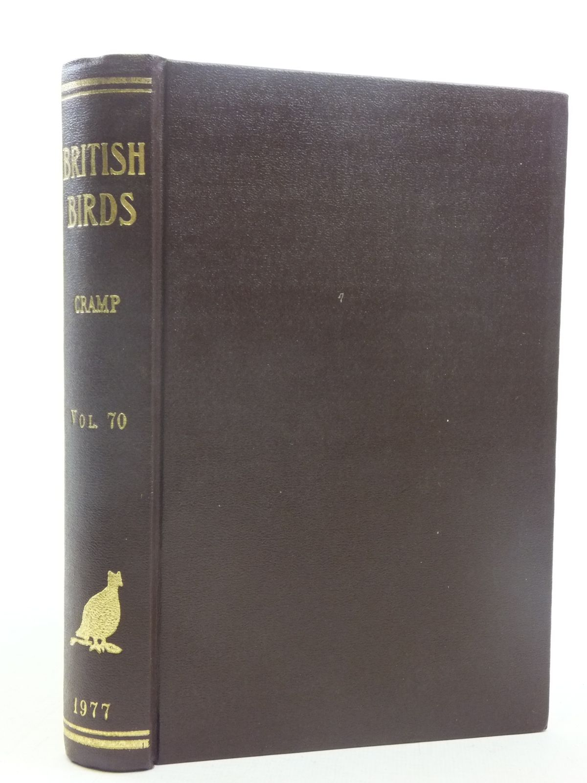 Photo of BRITISH BIRDS VOL. 70- Stock Number: 1607107