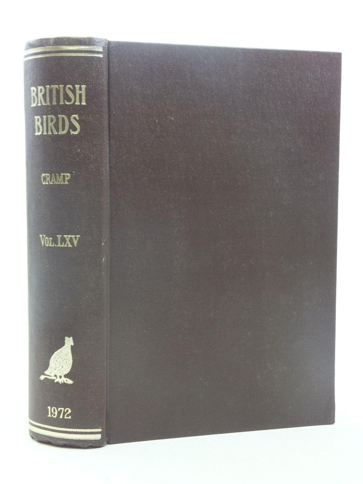 Photo of BRITISH BIRDS VOL. LXV- Stock Number: 1607116