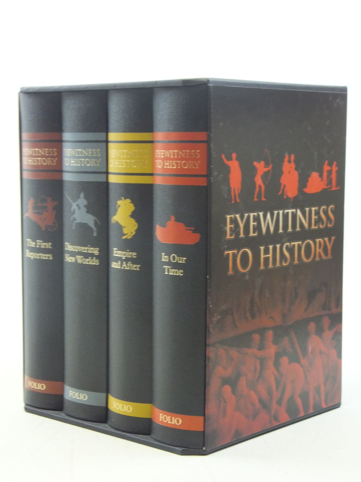 Photo of EYEWITNESS TO HISTORY written by Fox, Robert published by Folio Society (STOCK CODE: 1607151)  for sale by Stella & Rose's Books