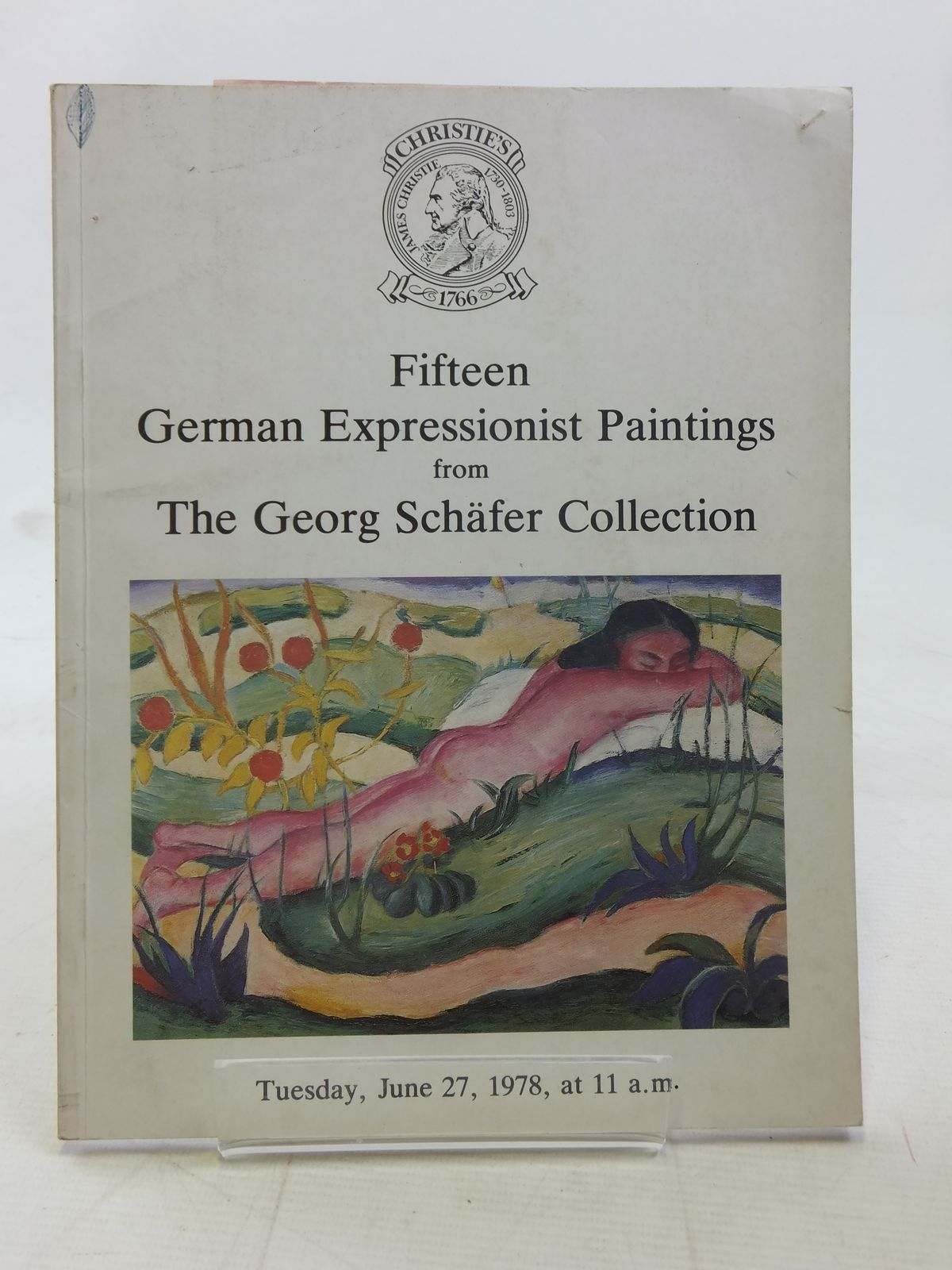 Photo of FIFTEEN GERMAN EXPRESSIONIST PAINTINGS FROM THE GEORG SCHAFER COLLECTION published by Christie, Manson & Woods Ltd. (STOCK CODE: 1607199)  for sale by Stella & Rose's Books