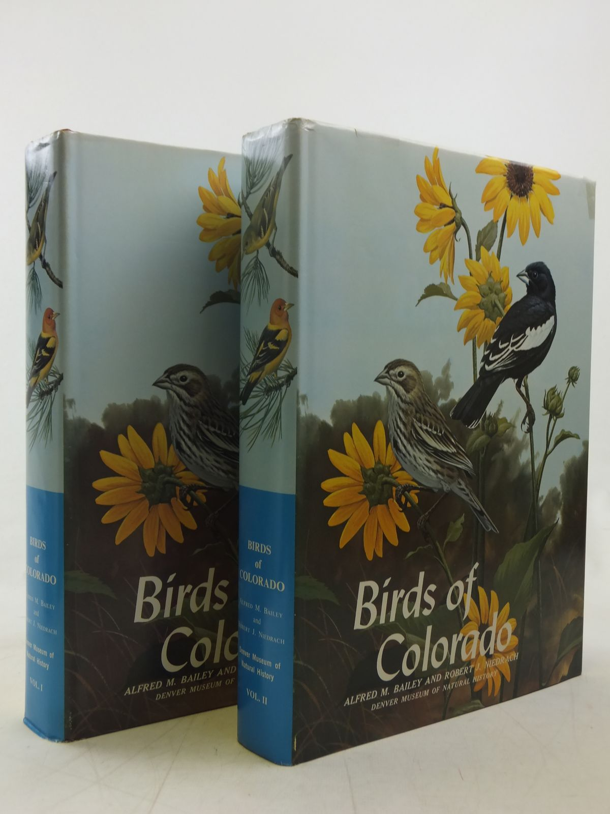 Photo of BIRDS OF COLORADO (2 VOLUMES) written by Bailey, Alfred M.<br />Niedrach, Robert J. published by Denver Museum Of Natural History (STOCK CODE: 1607511)  for sale by Stella & Rose's Books