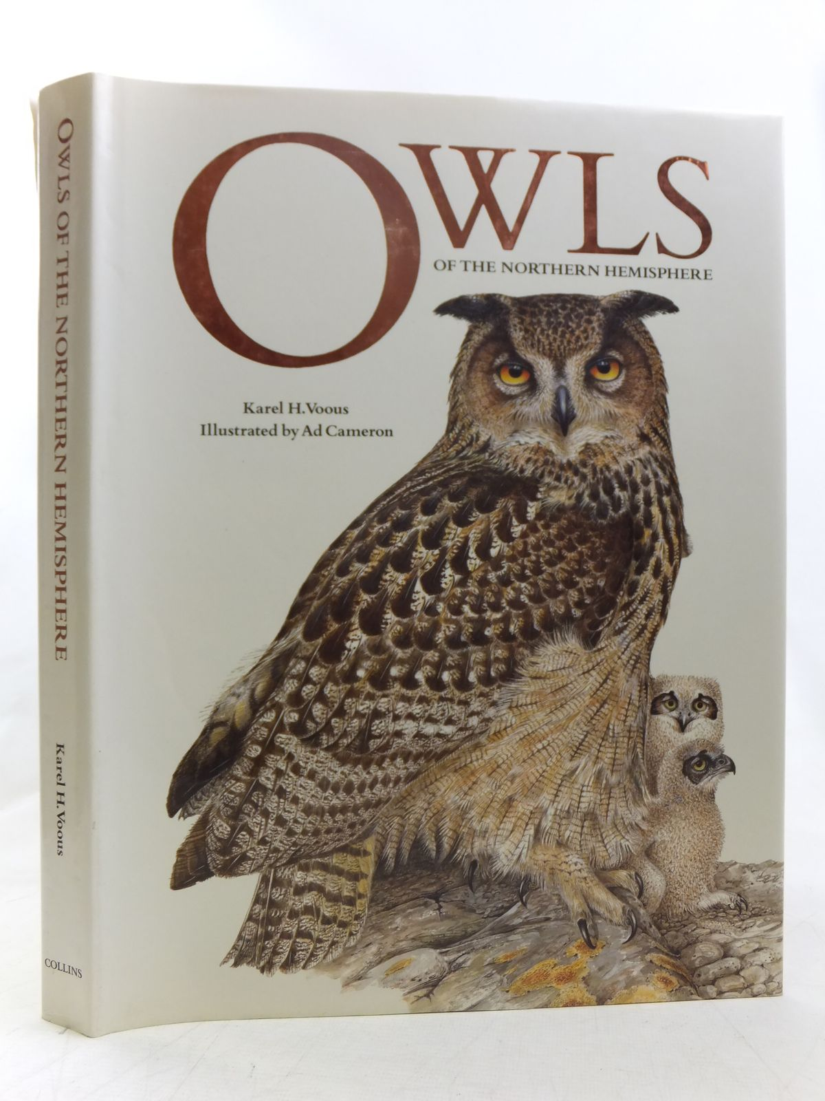 Photo of OWLS OF THE NORTHERN HEMISPHERE written by Voous, Karel H. illustrated by Cameron, Ad published by Collins (STOCK CODE: 1607516)  for sale by Stella & Rose's Books