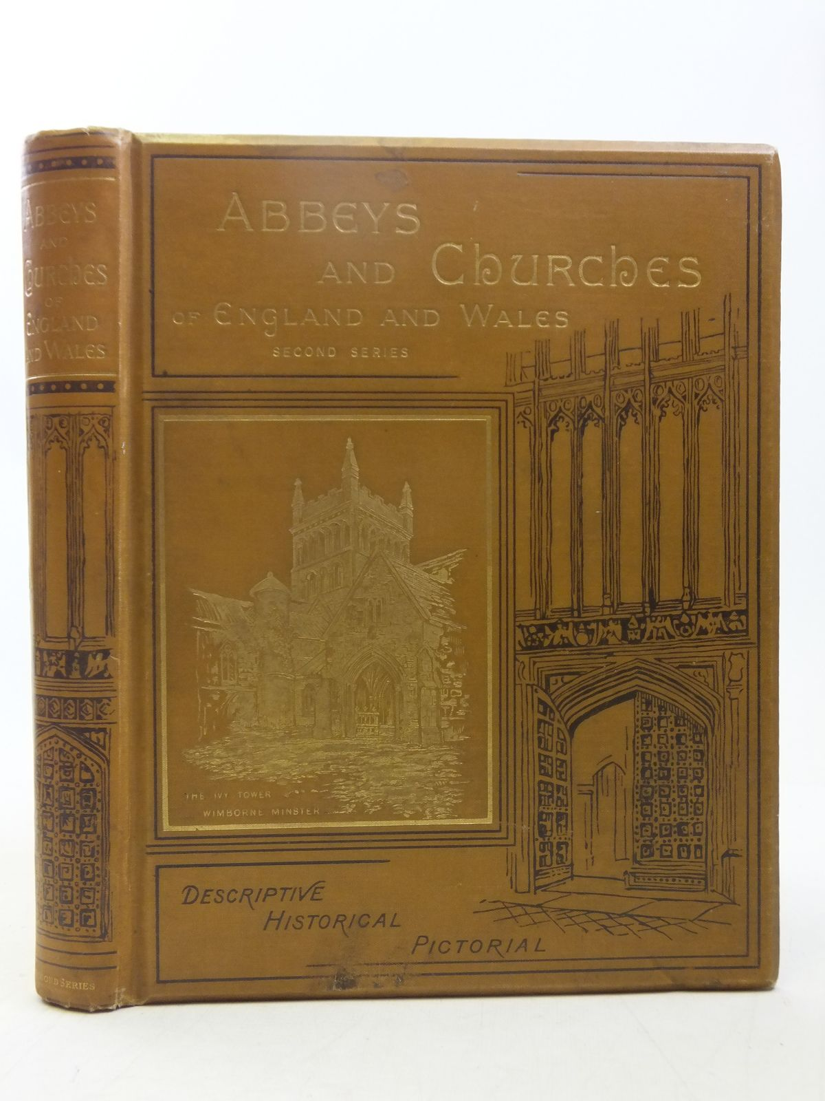 Photo of ABBEYS AND CHURCHES OF ENGLAND AND WALES written by Bonney, T.G. published by Cassell & Company Limited (STOCK CODE: 1607587)  for sale by Stella & Rose's Books