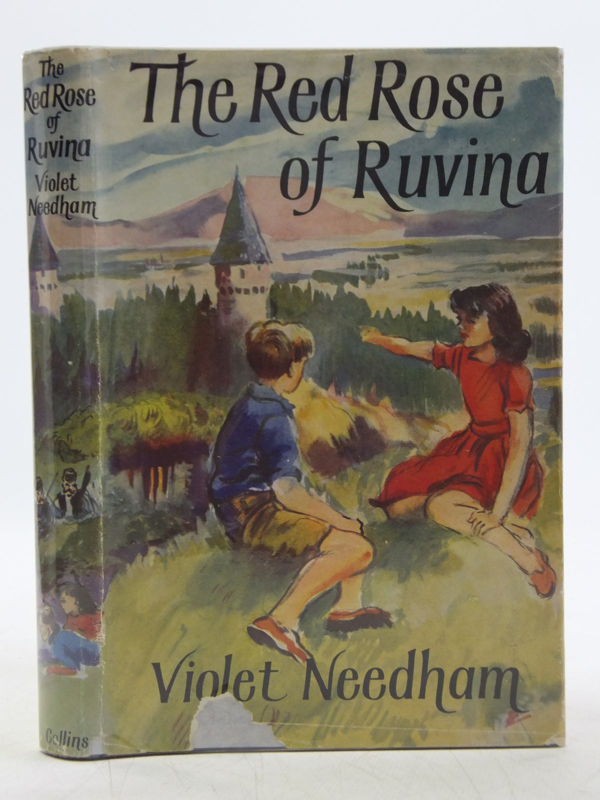 Photo of THE RED ROSE OF RUVINA written by Needham, Violet illustrated by Kennedy, Richard published by Collins (STOCK CODE: 1607742)  for sale by Stella & Rose's Books