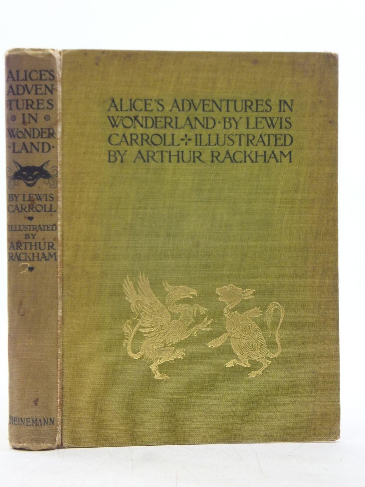 Photo of ALICE'S ADVENTURES IN WONDERLAND- Stock Number: 1607744