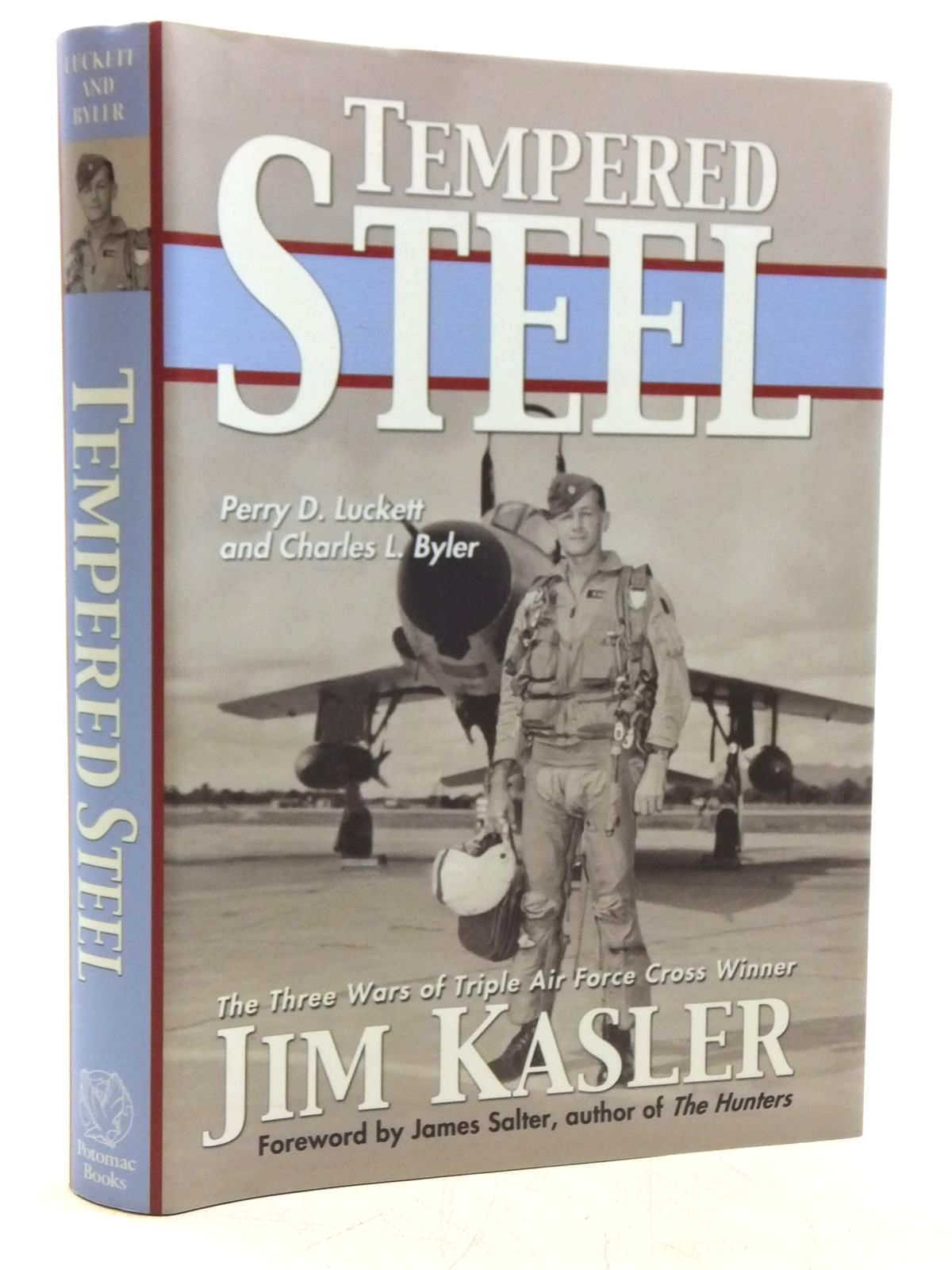 Photo of TEMPERED STEEL written by Luckett, Perry D.<br />Byler, Charles L. published by Potomac Books, Inc. (STOCK CODE: 1607864)  for sale by Stella & Rose's Books